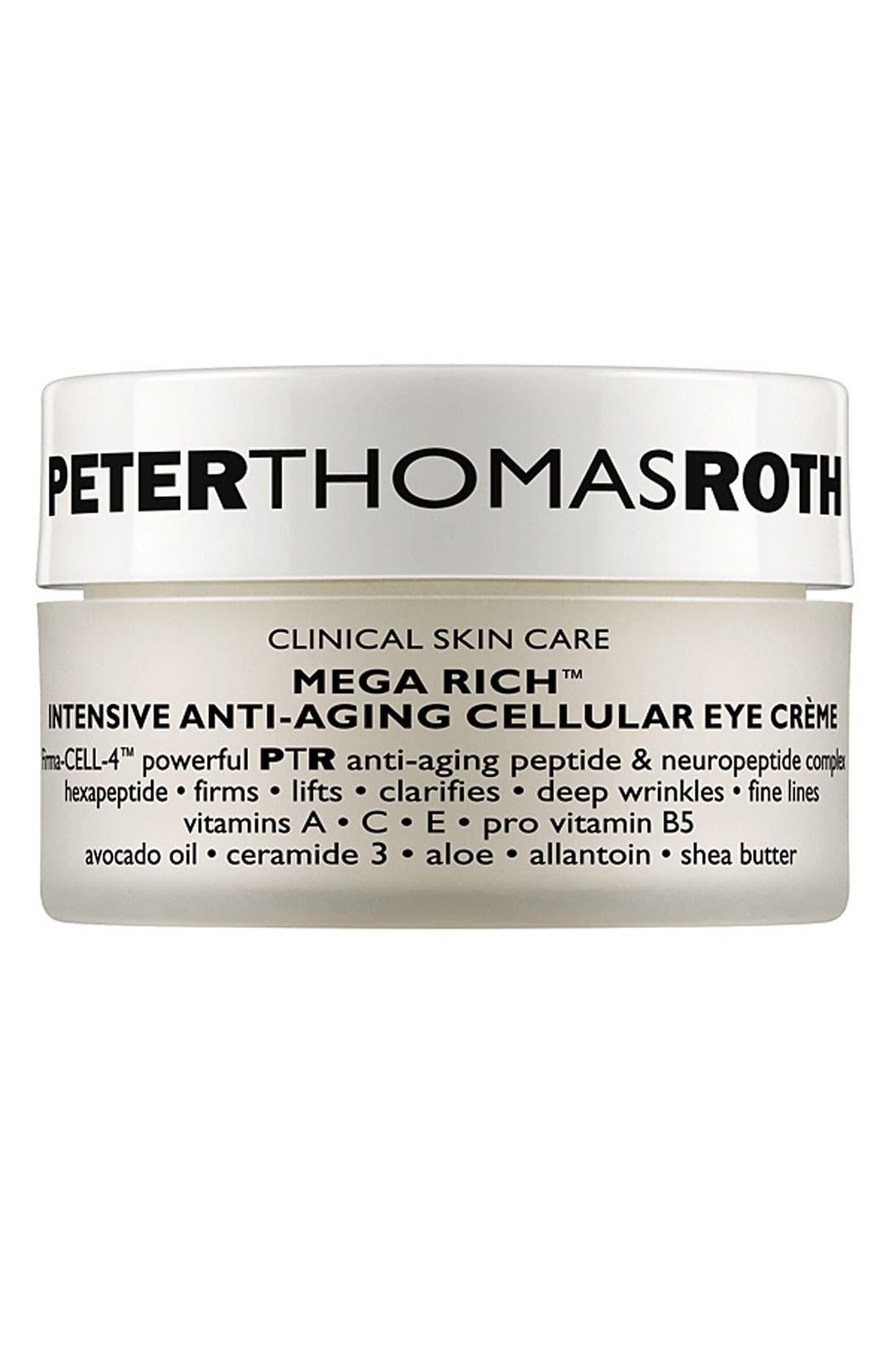 Mega Rich Intensive Anti-Aging Cellular Eye Crème,                             Main thumbnail 1, color,                             000