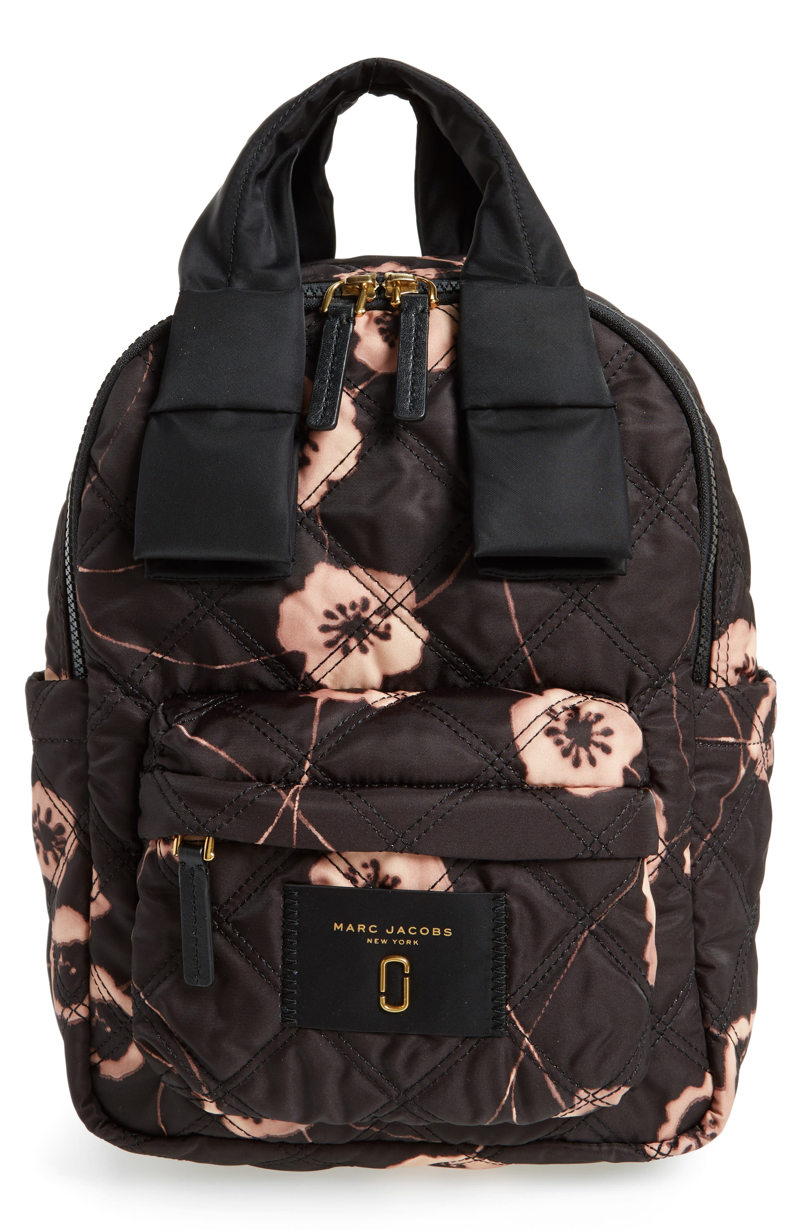Small Violet Vines Knot Backpack,                             Main thumbnail 1, color,                             002