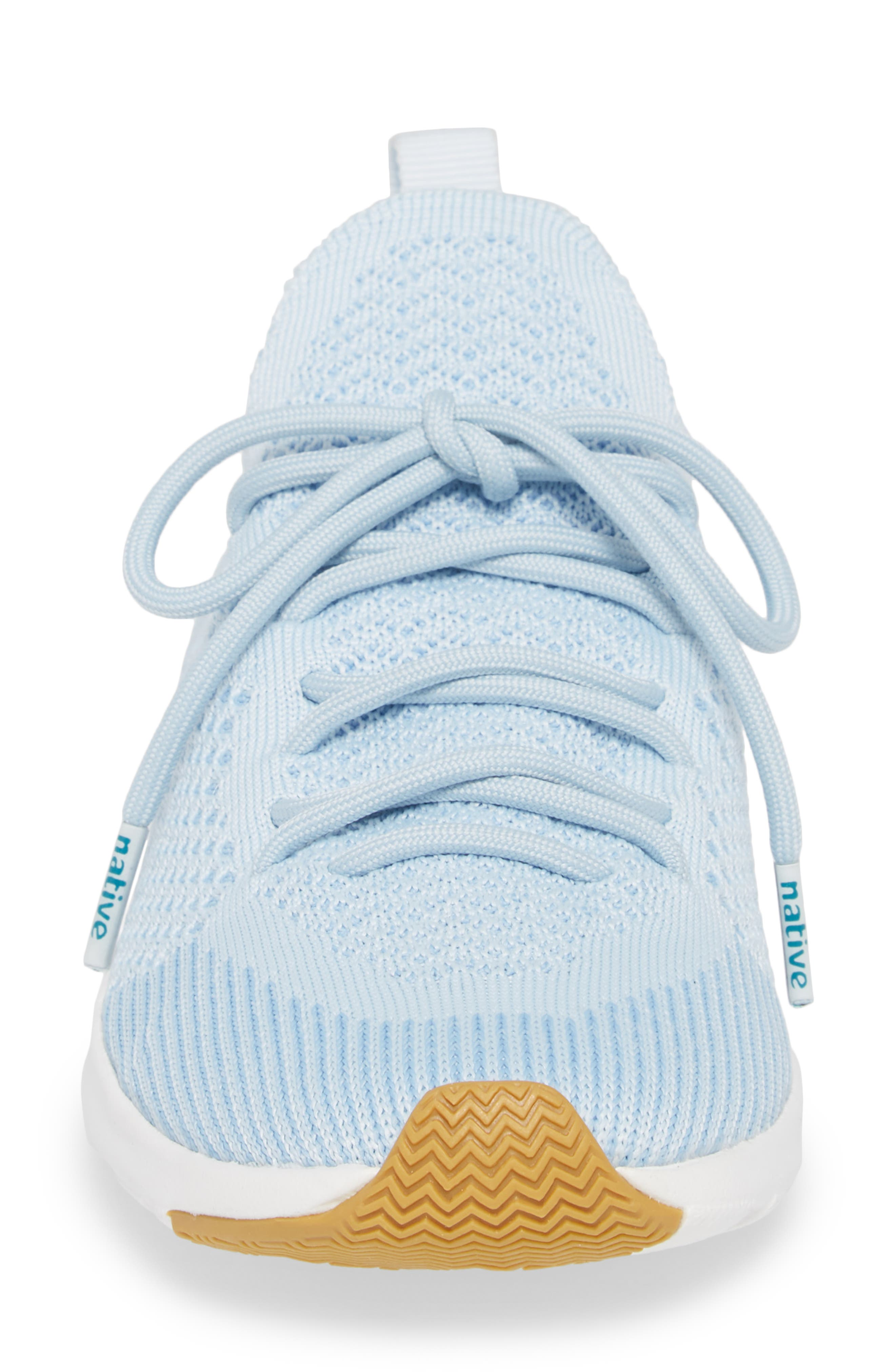 AP Mercury Liteknit Sneaker,                             Alternate thumbnail 4, color,                             AIR BLUE/ SHELL WHITE/ NATURAL