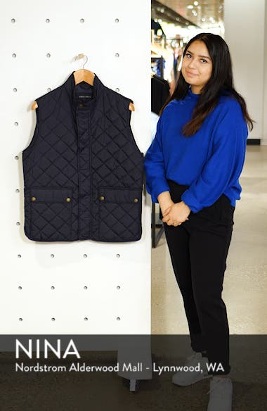 Diamond Quilted Vest, sales video thumbnail