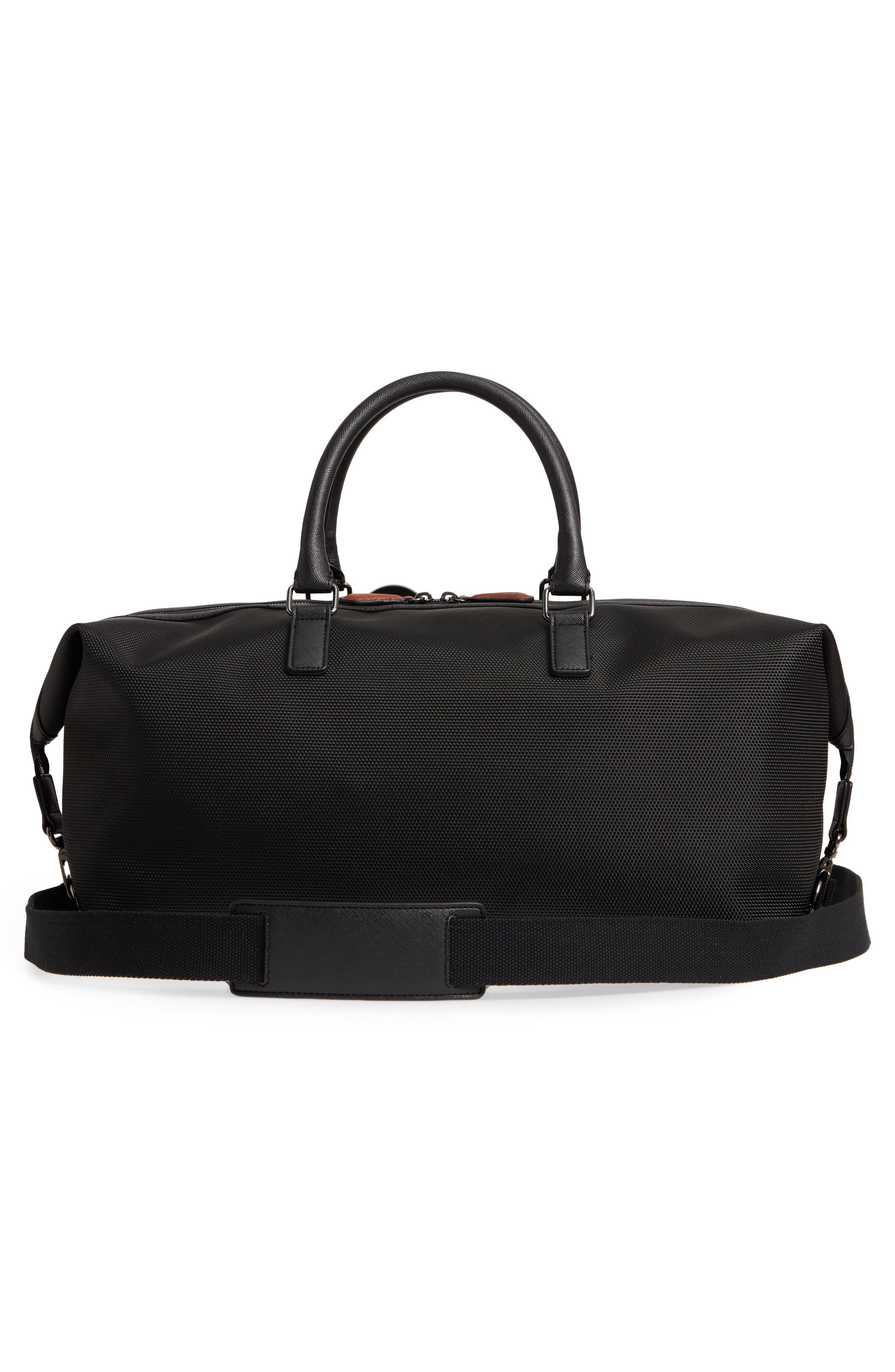 Smart Duffel Bag,                             Alternate thumbnail 3, color,                             001