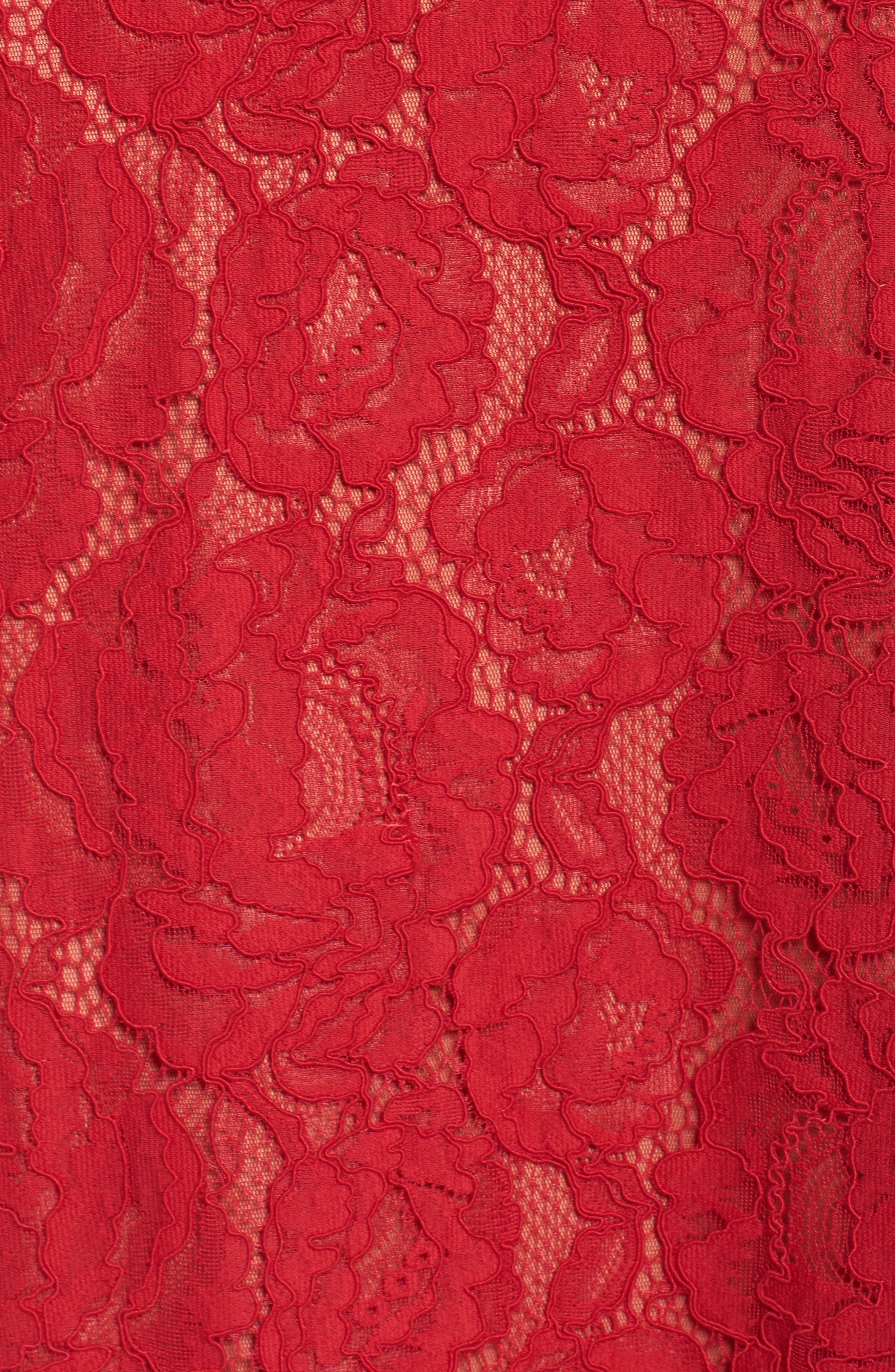 Corded Lace Gown,                             Alternate thumbnail 5, color,                             625