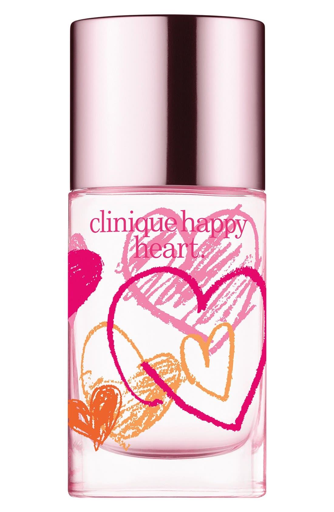 CLINIQUE,                             'Happy Hearts Fund - Happy Heart' Spray,                             Main thumbnail 1, color,                             000