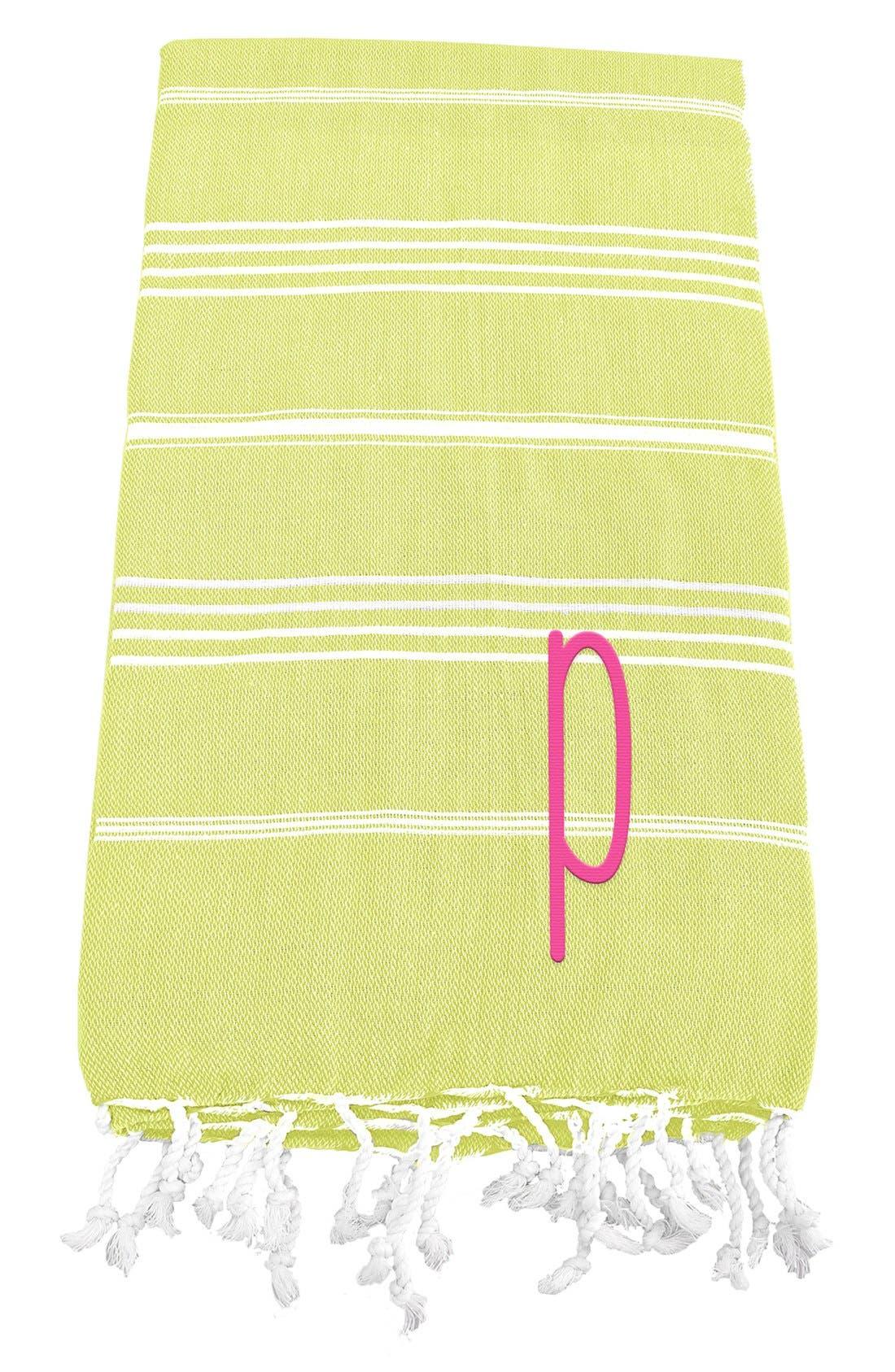 Monogram Turkish Cotton Towel,                             Main thumbnail 45, color,