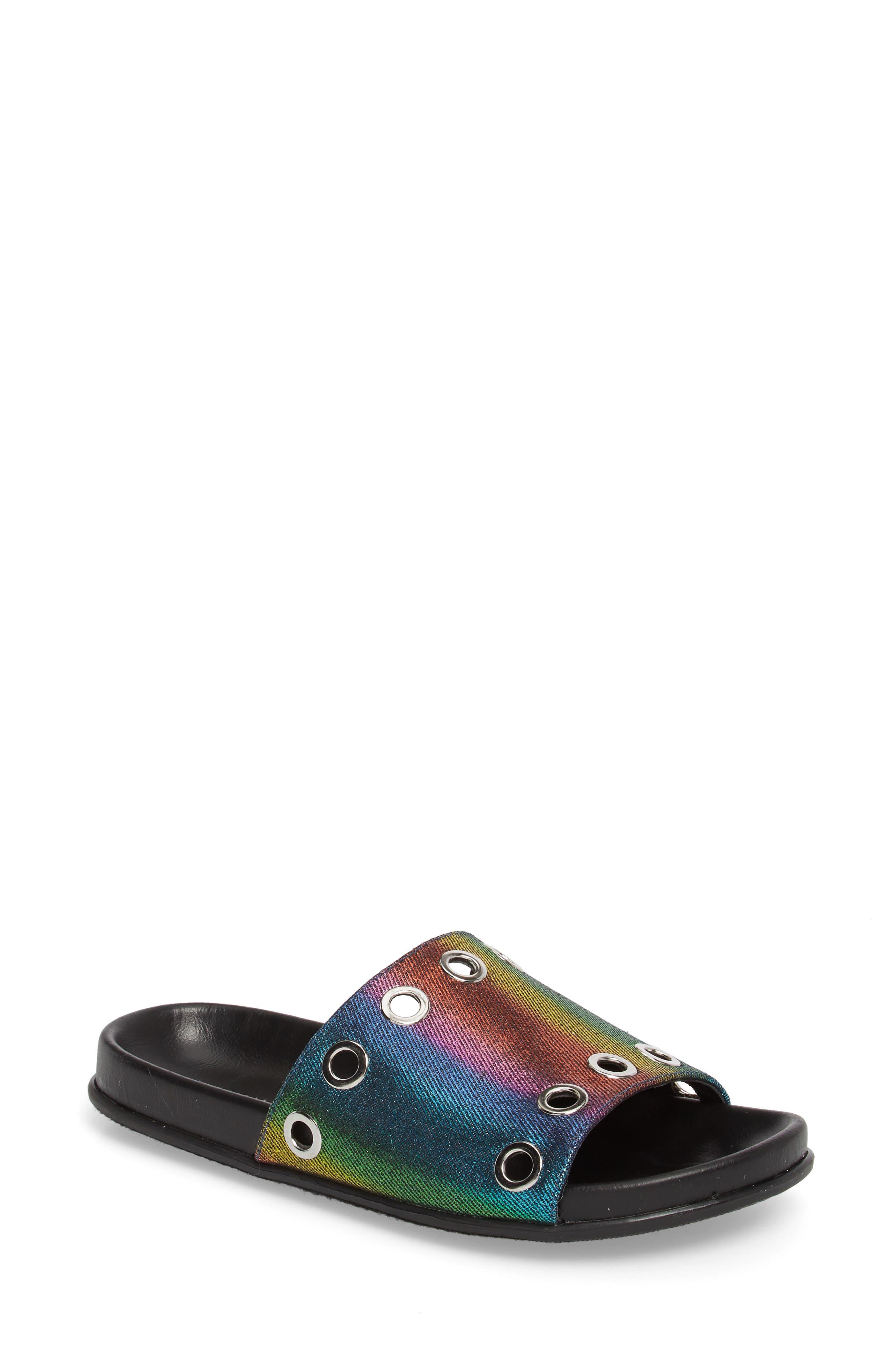 Lenny Slide Sandal,                             Main thumbnail 2, color,