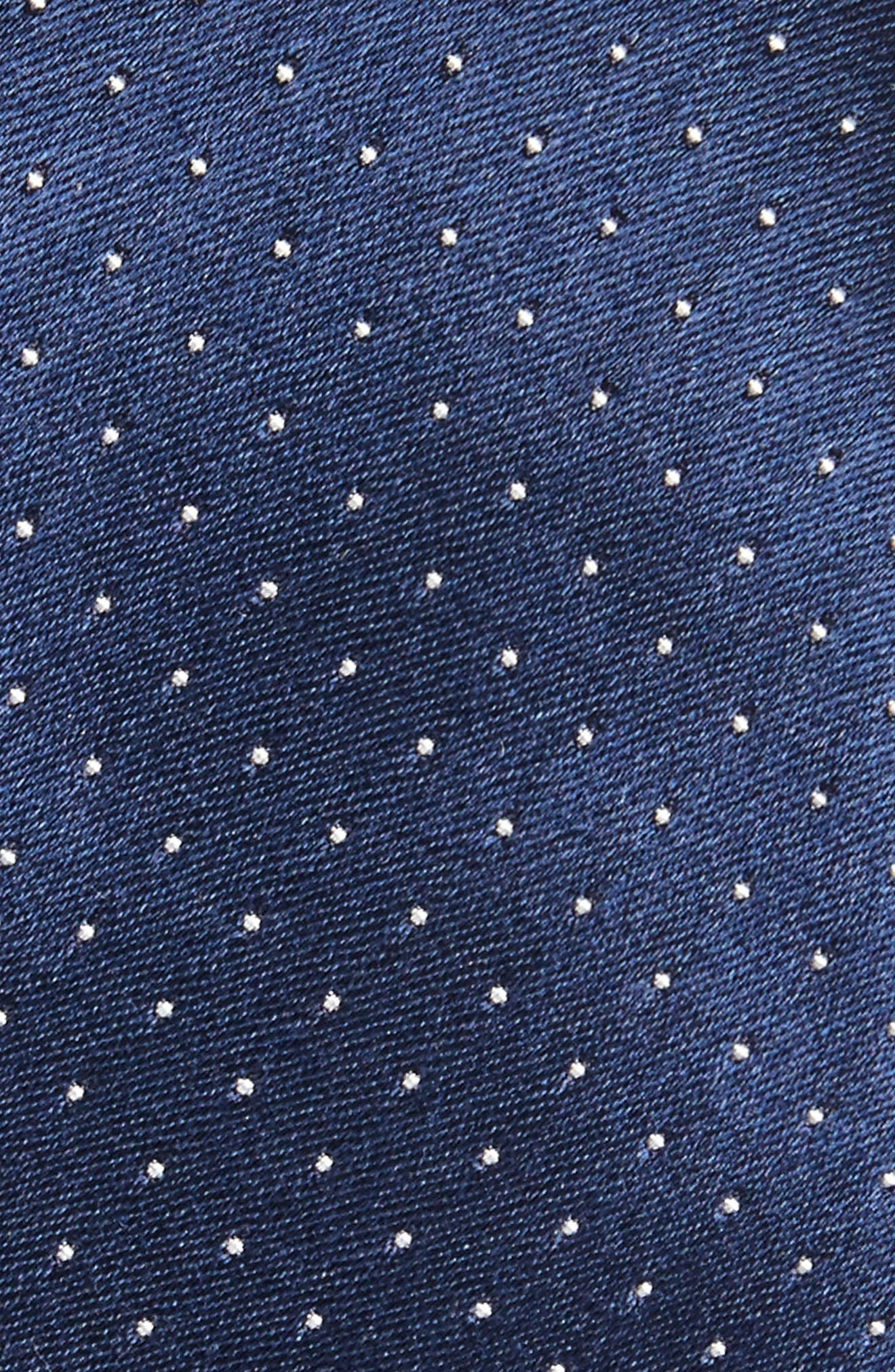 Dot Silk Skinny Tie,                             Alternate thumbnail 2, color,                             411