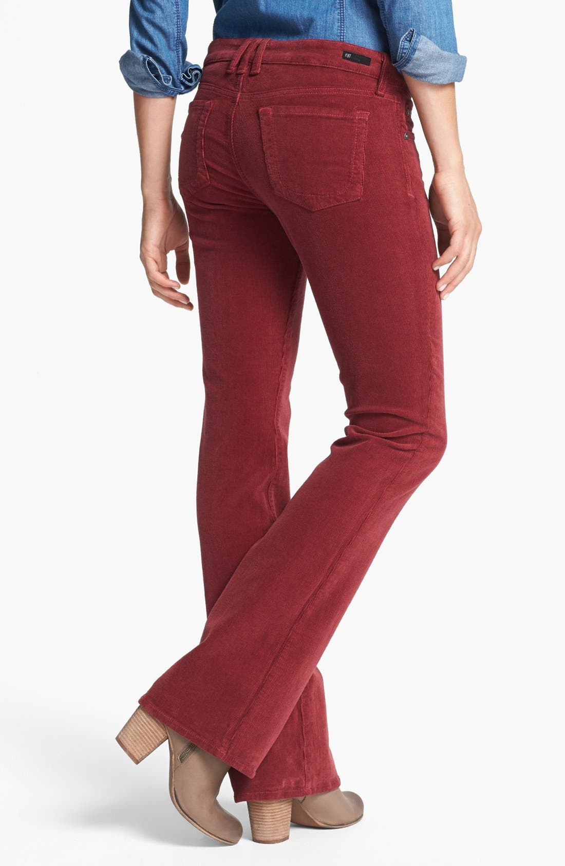 Baby Bootcut Corduroy Jeans,                             Alternate thumbnail 50, color,