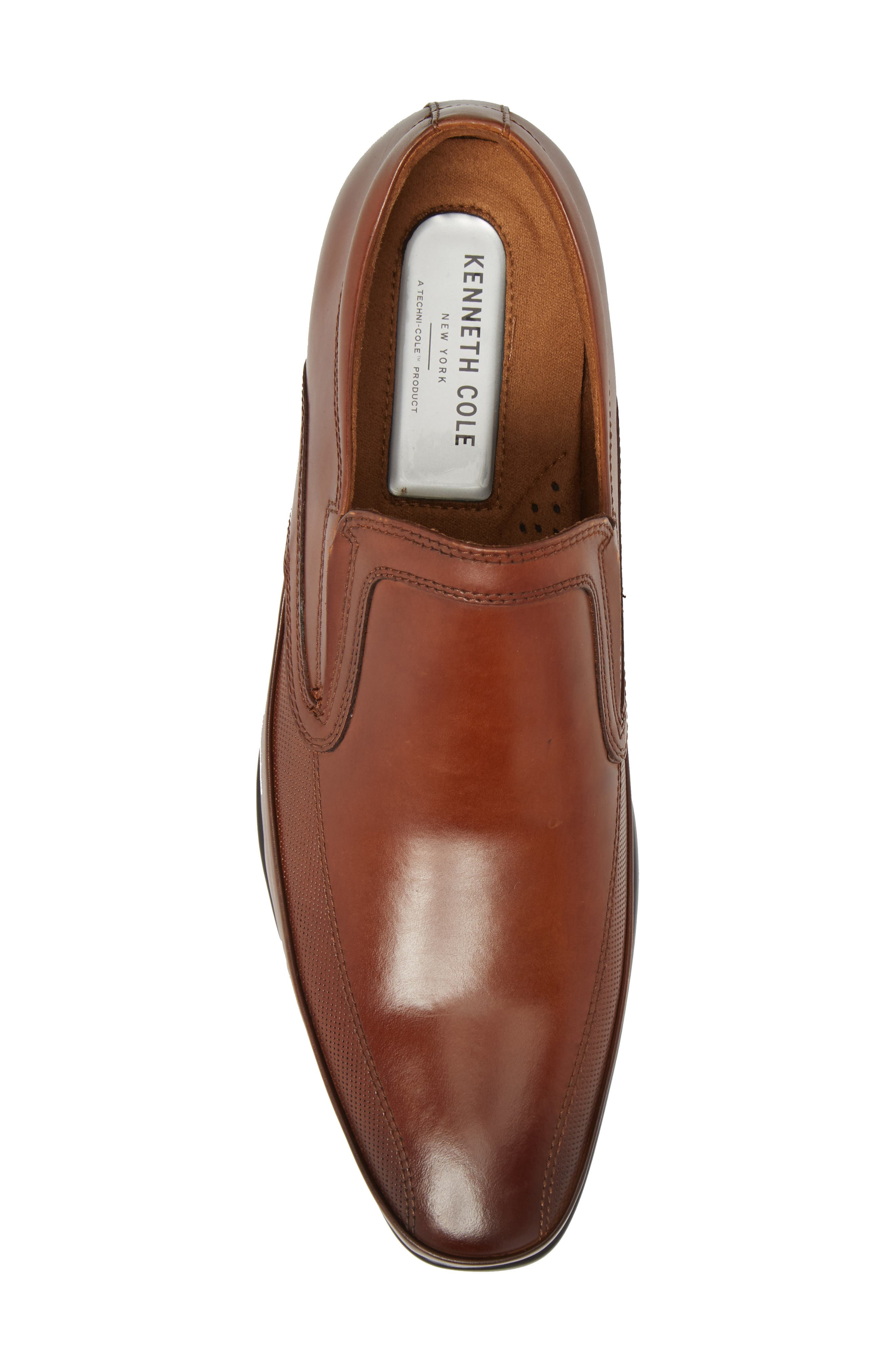 'Extra Official' Venetian Loafer,                             Alternate thumbnail 5, color,                             COGNAC LEATHER