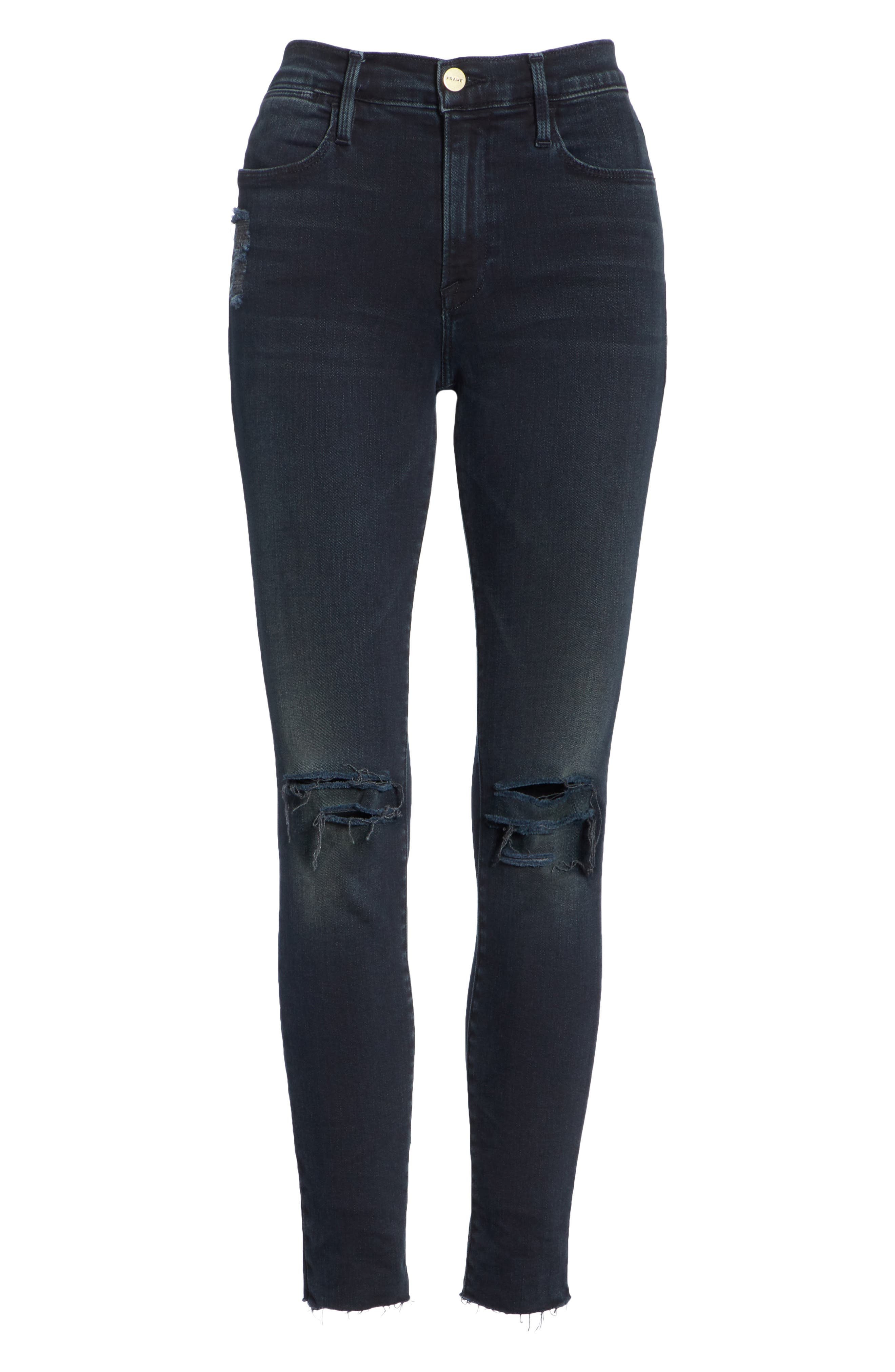 Le High Skinny Jeans,                             Alternate thumbnail 7, color,                             402