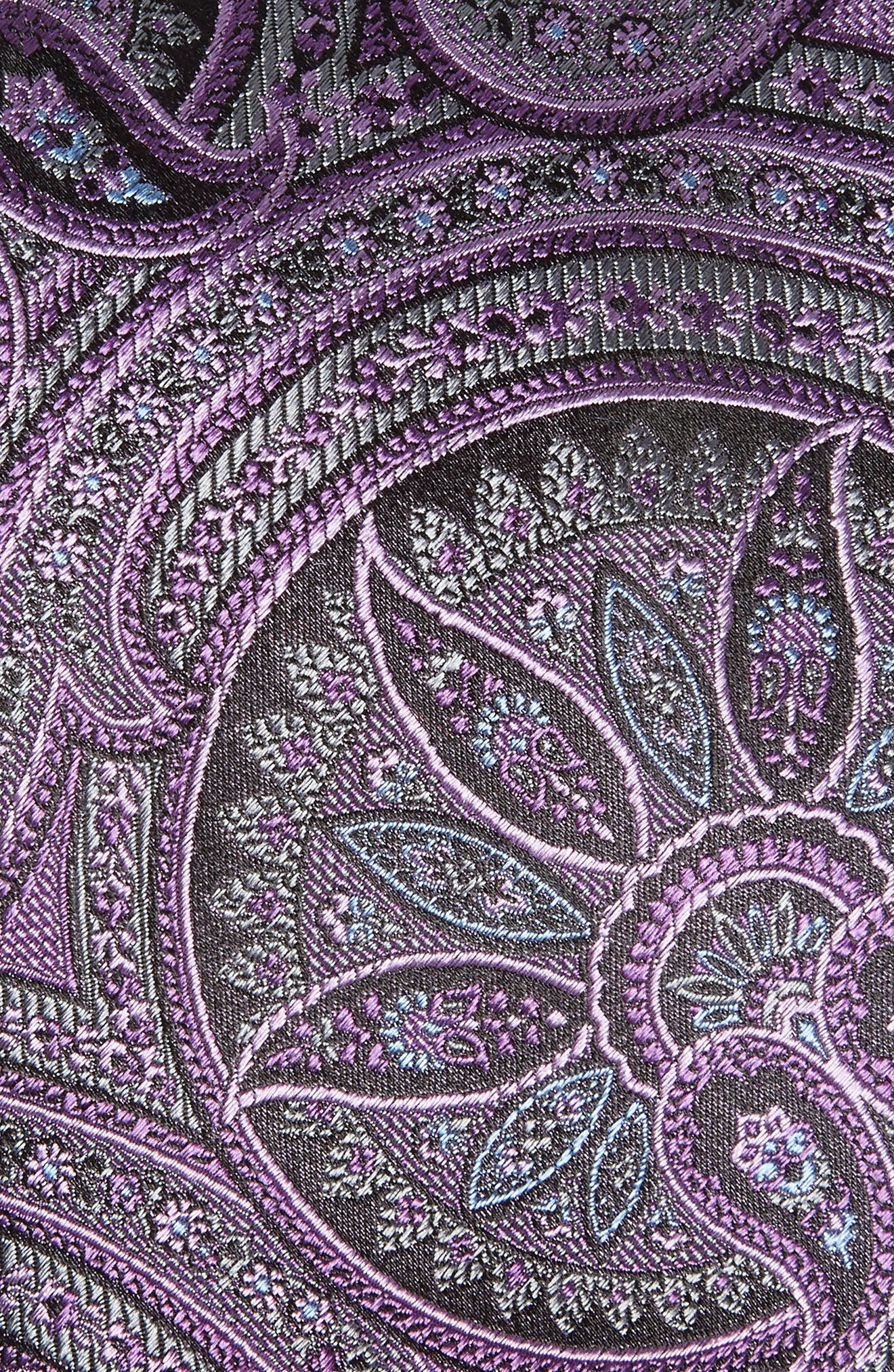 Paisley Silk Tie,                             Alternate thumbnail 2, color,                             500