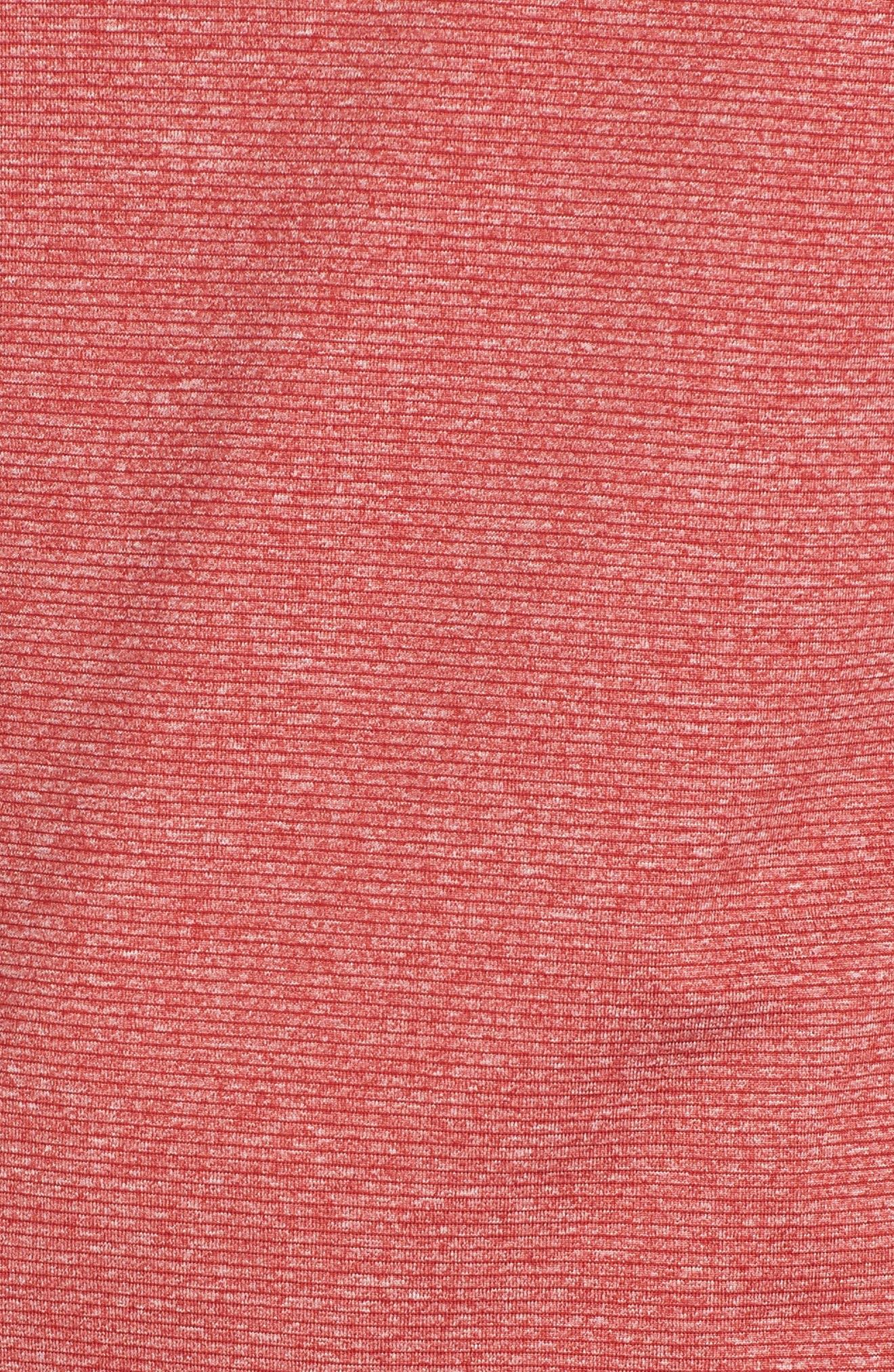 Shoreline - Kansas City Chiefs Half Zip Pullover,                             Alternate thumbnail 5, color,                             615