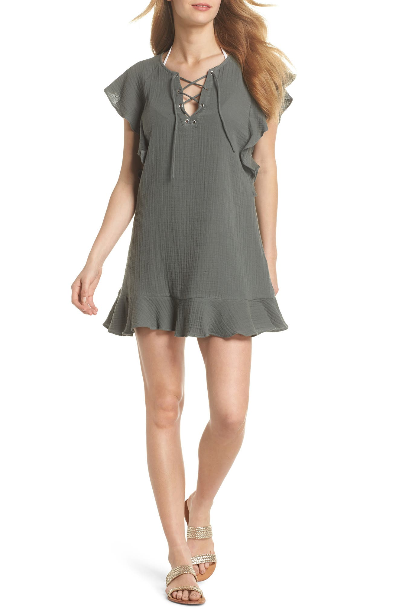 Fia Cover-Up Dress,                         Main,                         color, 020