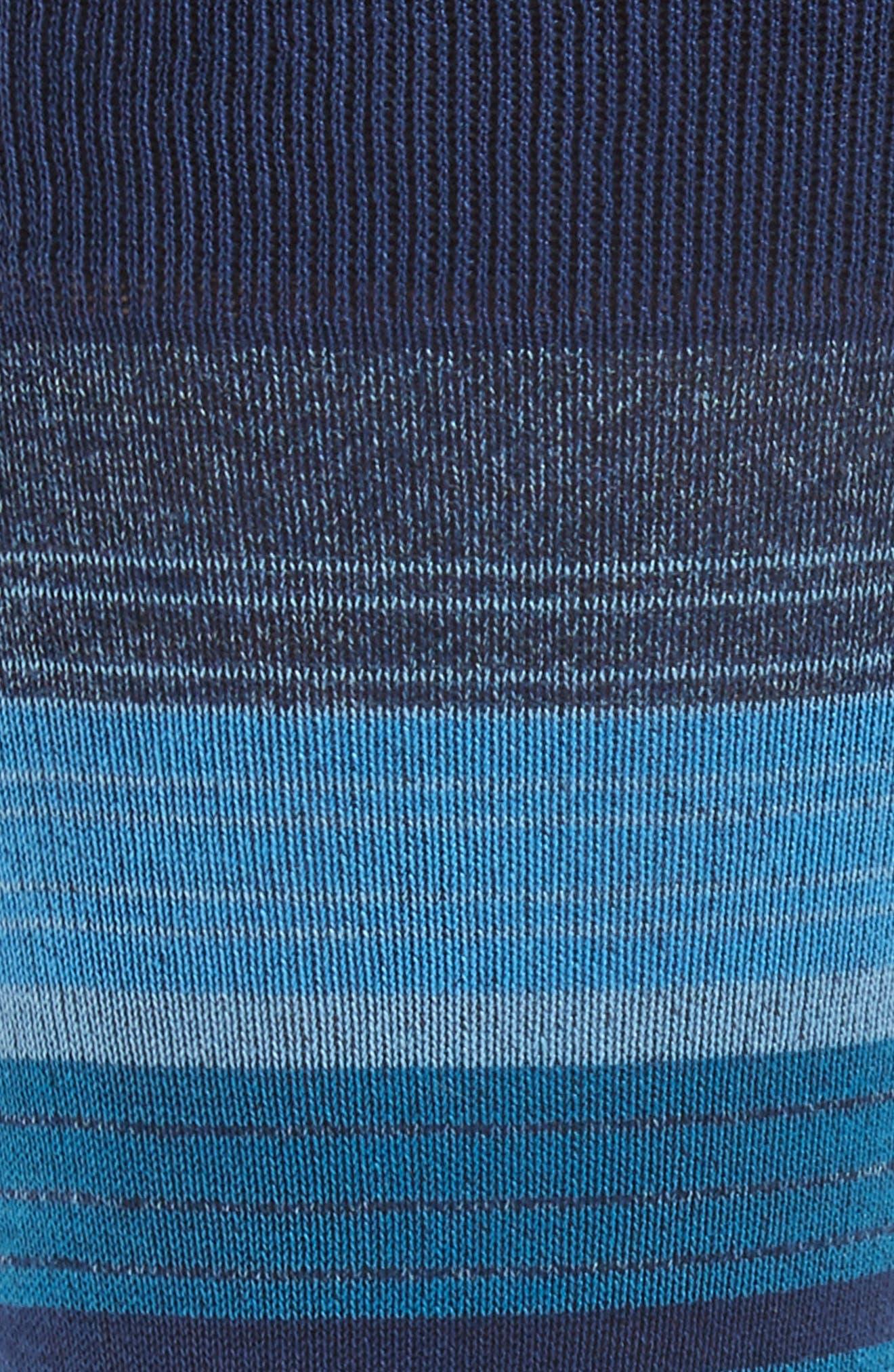 Stripe Mercerized Blend Socks,                             Alternate thumbnail 2, color,                             411