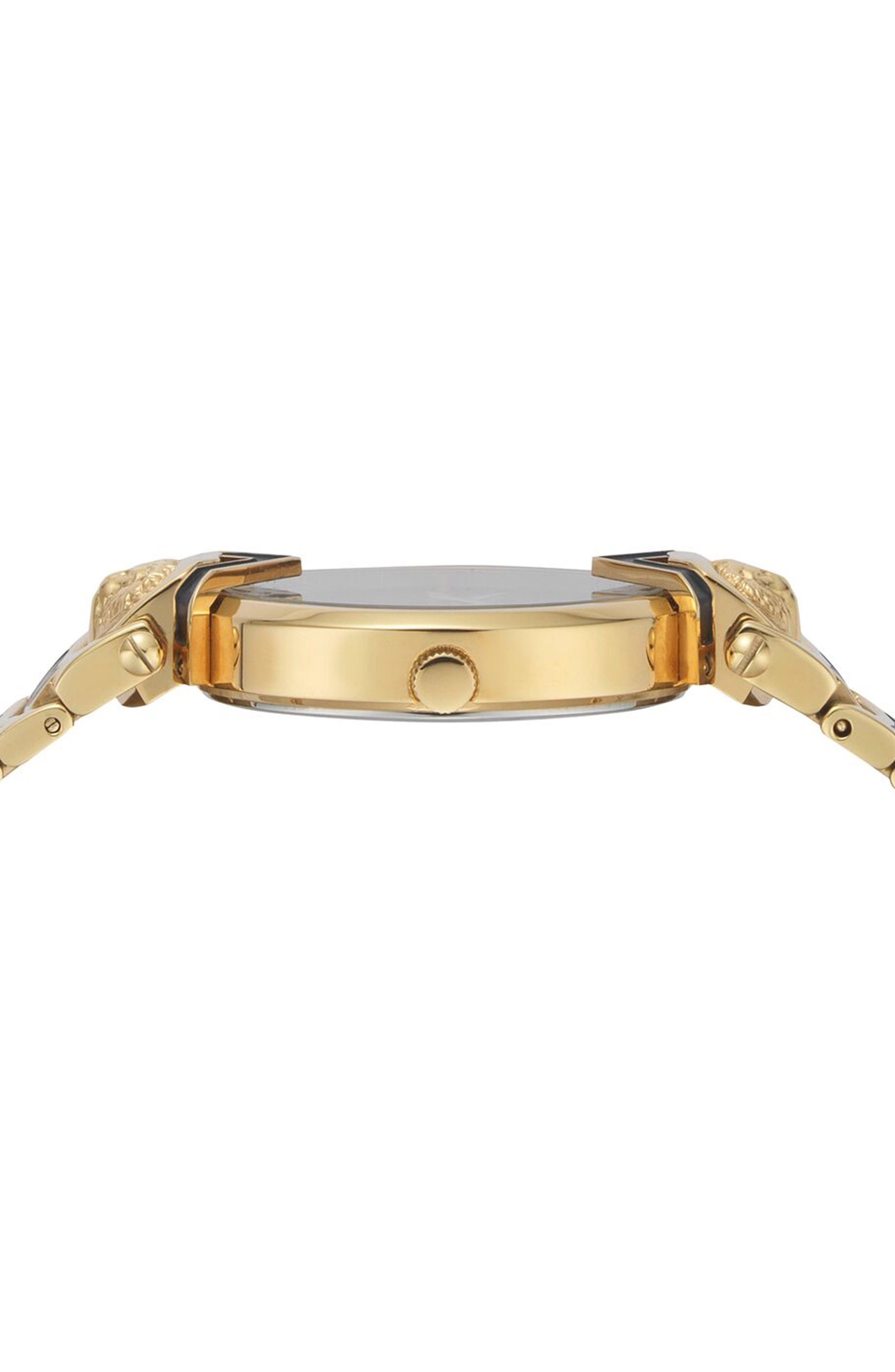 Mabillon Bracelet Watch, 36mm,                             Alternate thumbnail 2, color,                             GOLD/ BLACK GUILLOCHE/ GOLD