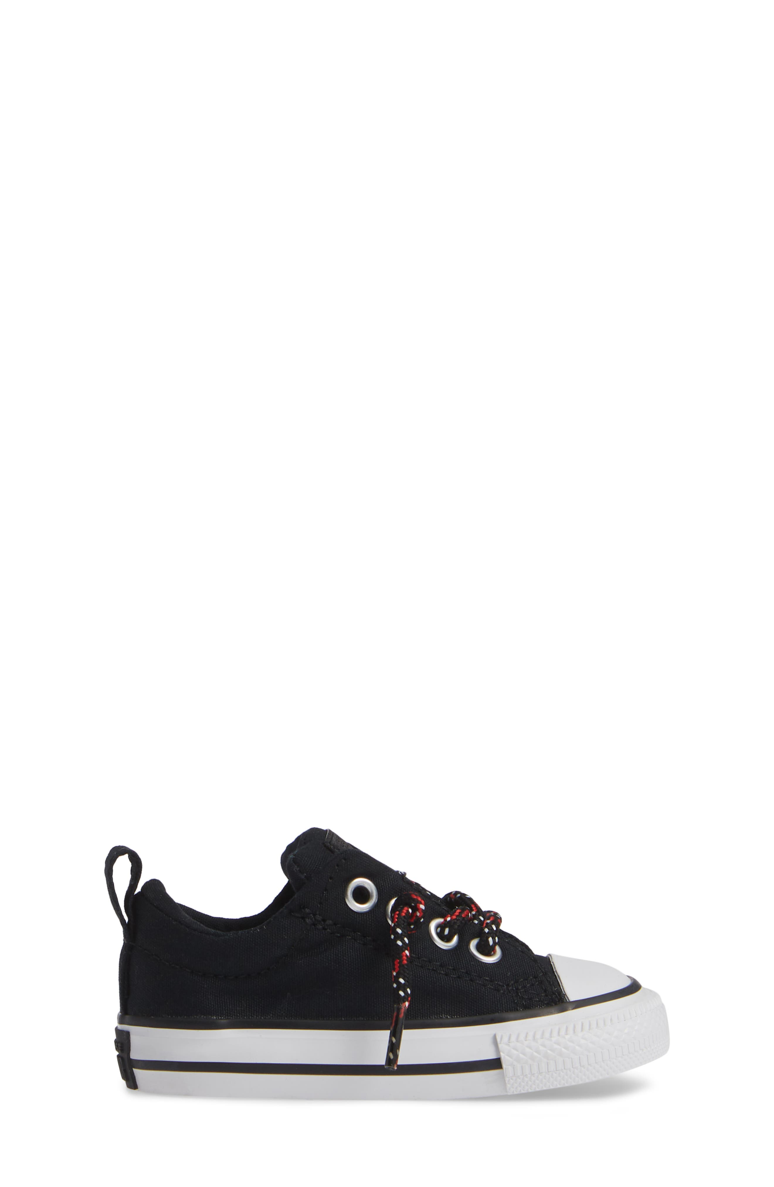 All Star<sup>®</sup> Graphite & Glitter Low Top Sneaker,                             Alternate thumbnail 3, color,                             002