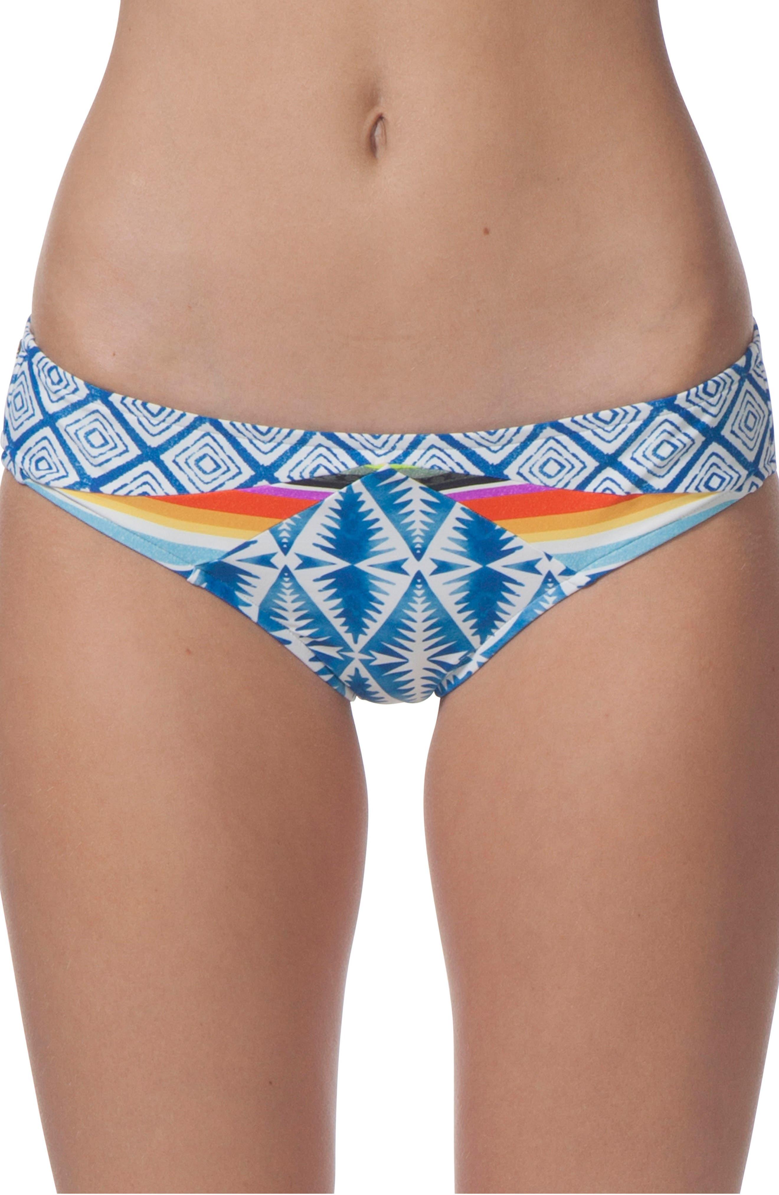 Beach Bazaar Hipster Bikini Bottoms,                             Main thumbnail 1, color,                             400