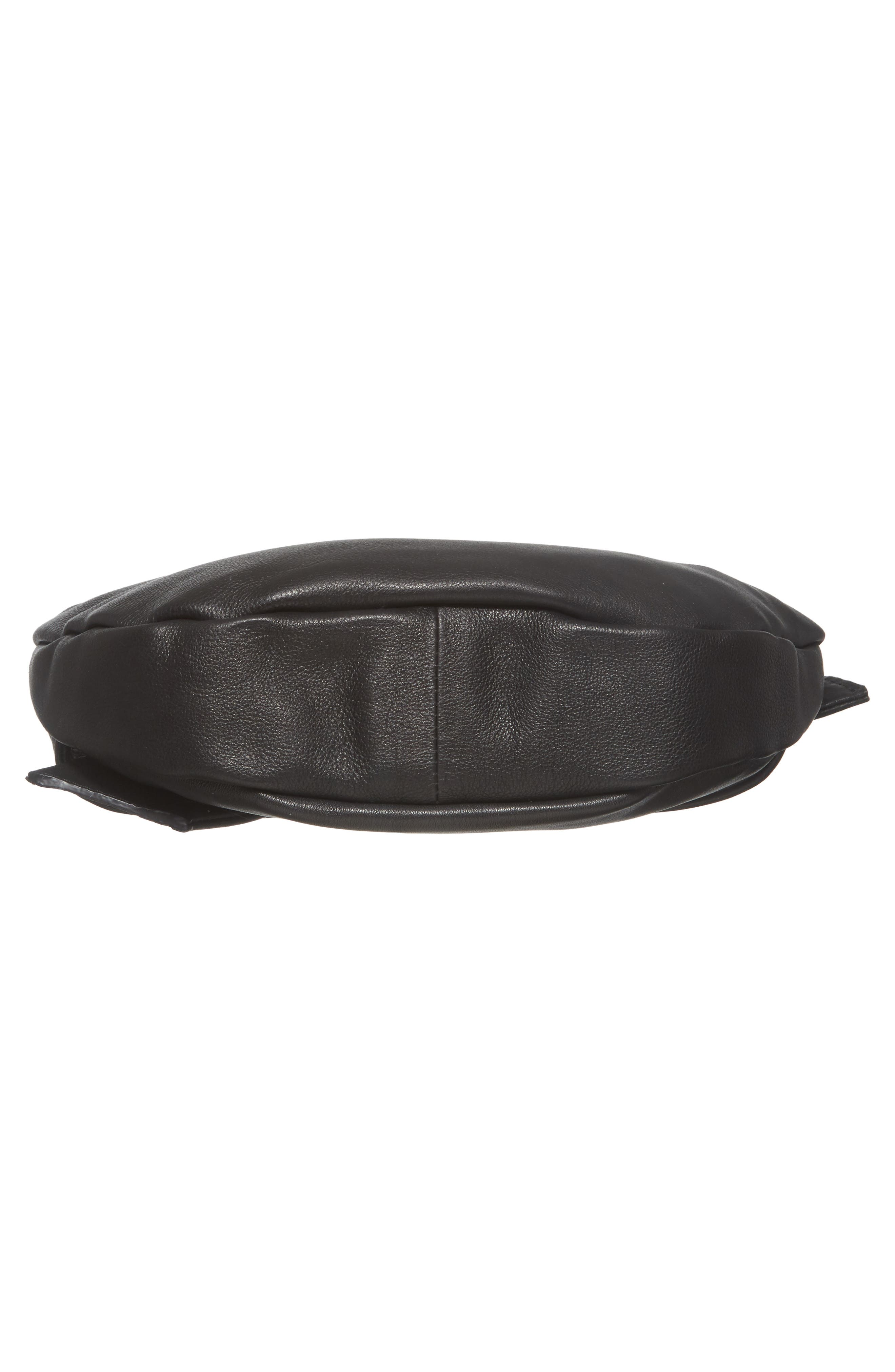 Jasmine Leather Clutch,                             Alternate thumbnail 11, color,