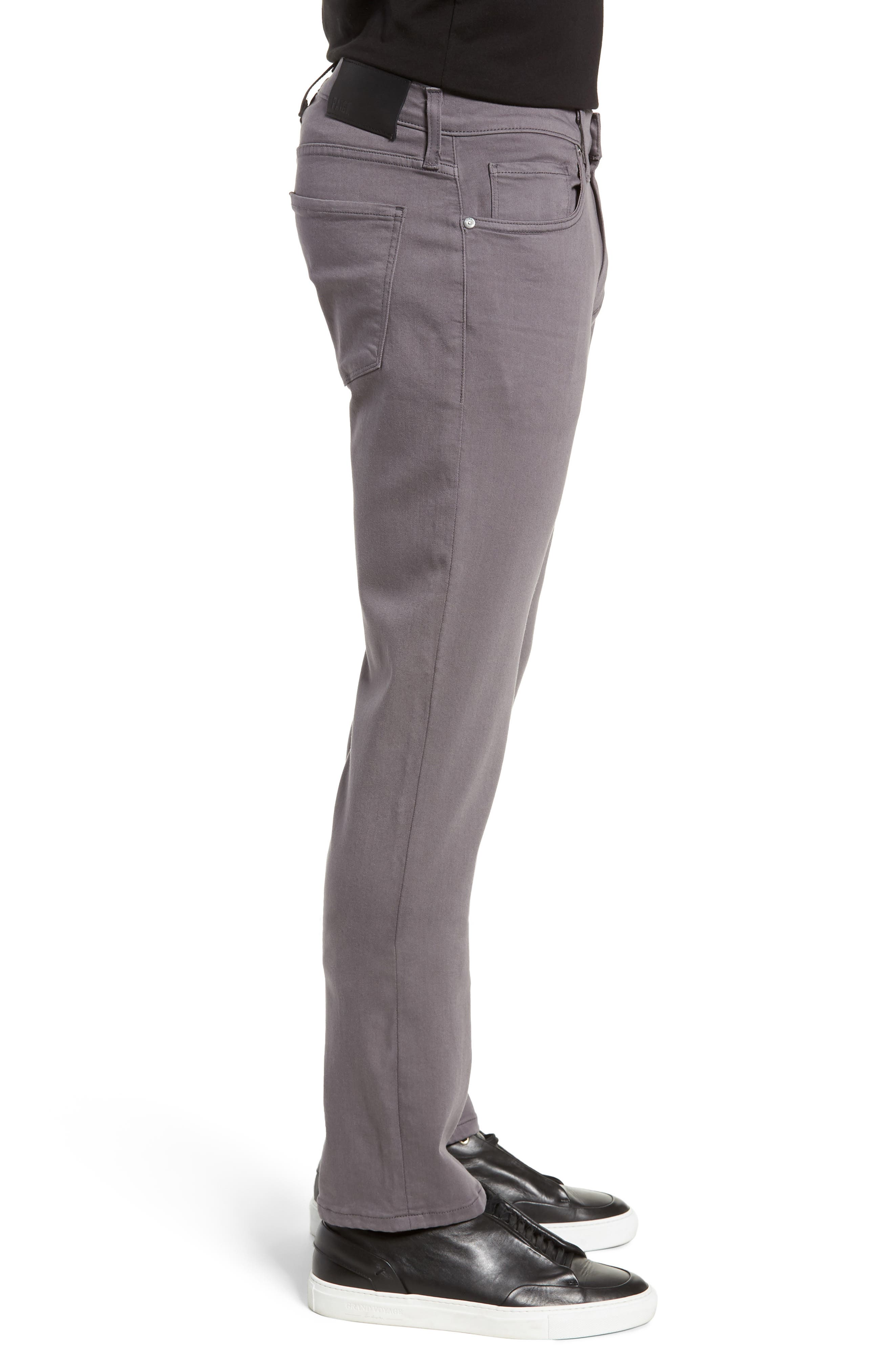 Transcend - Federal Slim Straight Leg Jeans,                             Alternate thumbnail 3, color,                             030