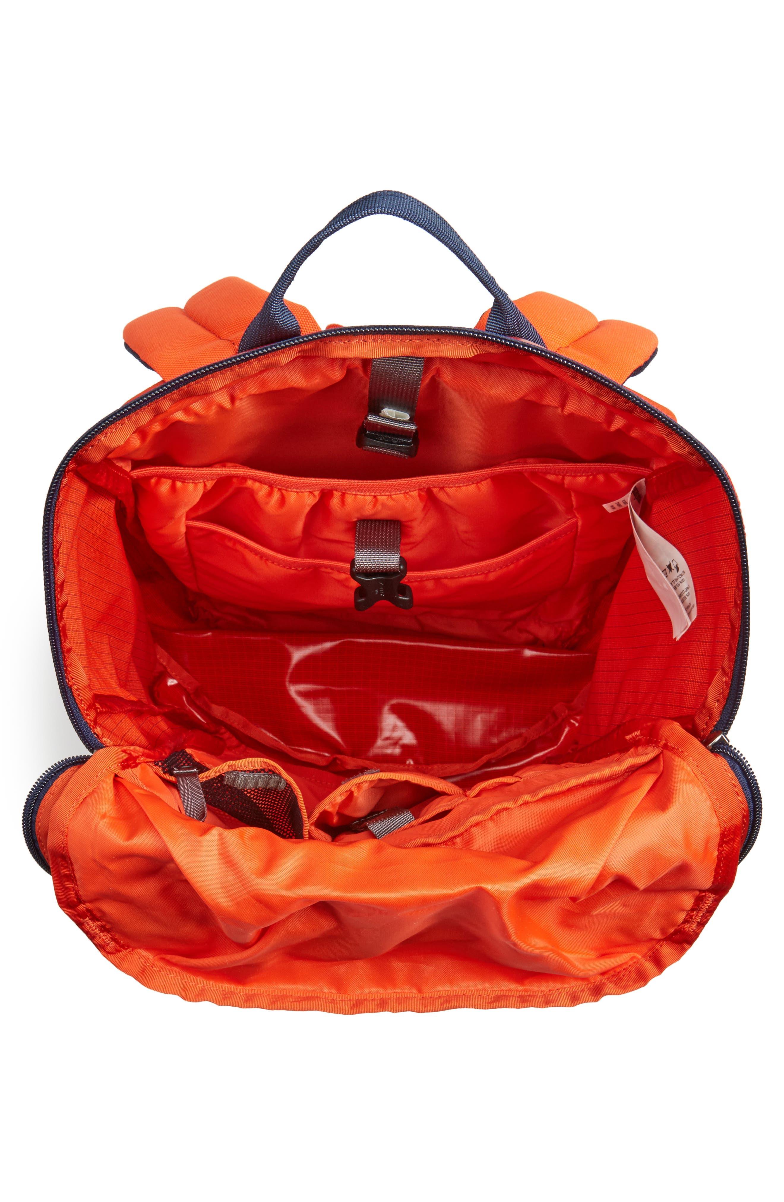 Black Hole 25 Liter Backpack,                             Alternate thumbnail 4, color,                             PAINTBRUSH RED
