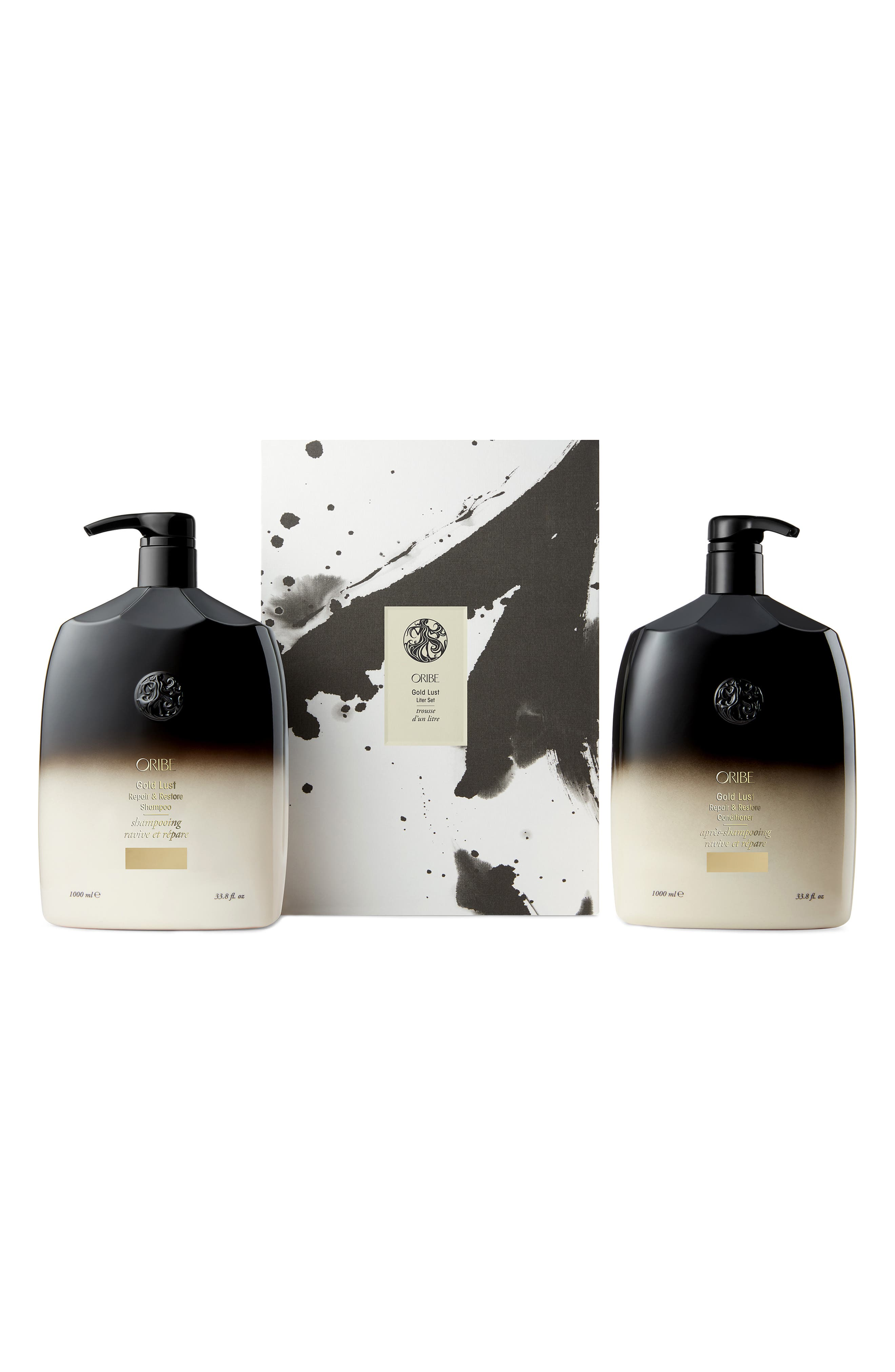 SPACE.NK.apothecary Oribe Gold Lust Liter Set, Main, color, 000