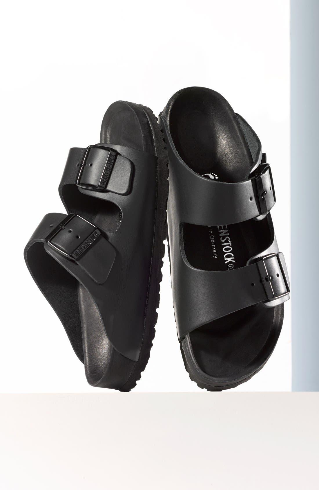 'Monterey' Leather Sandal,                             Main thumbnail 1, color,