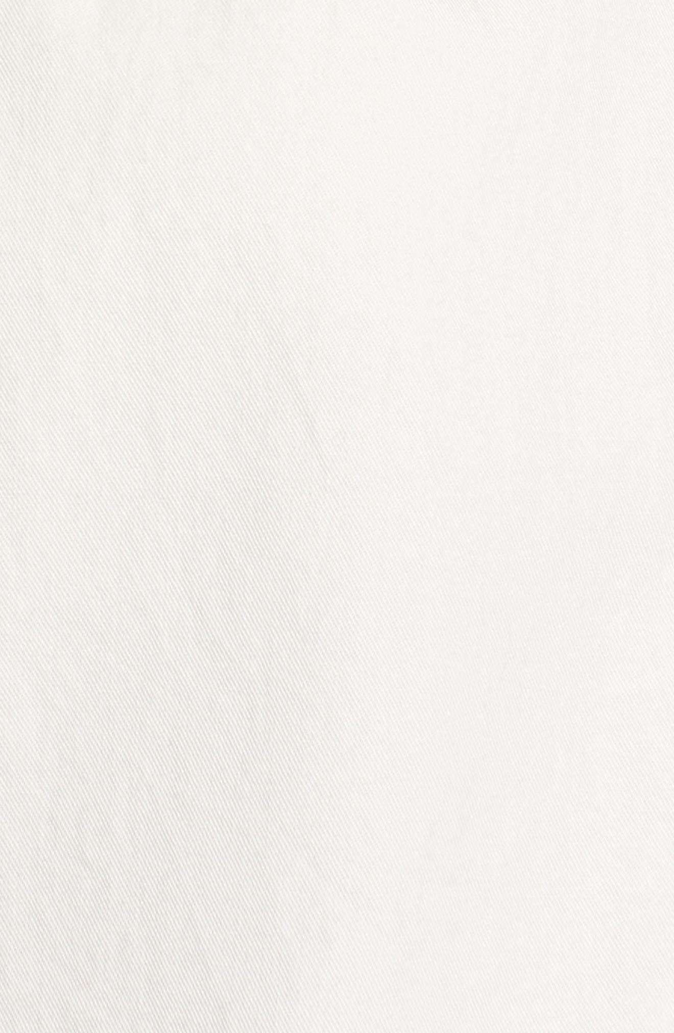 Central Blouse,                             Alternate thumbnail 6, color,                             PURE WHITE