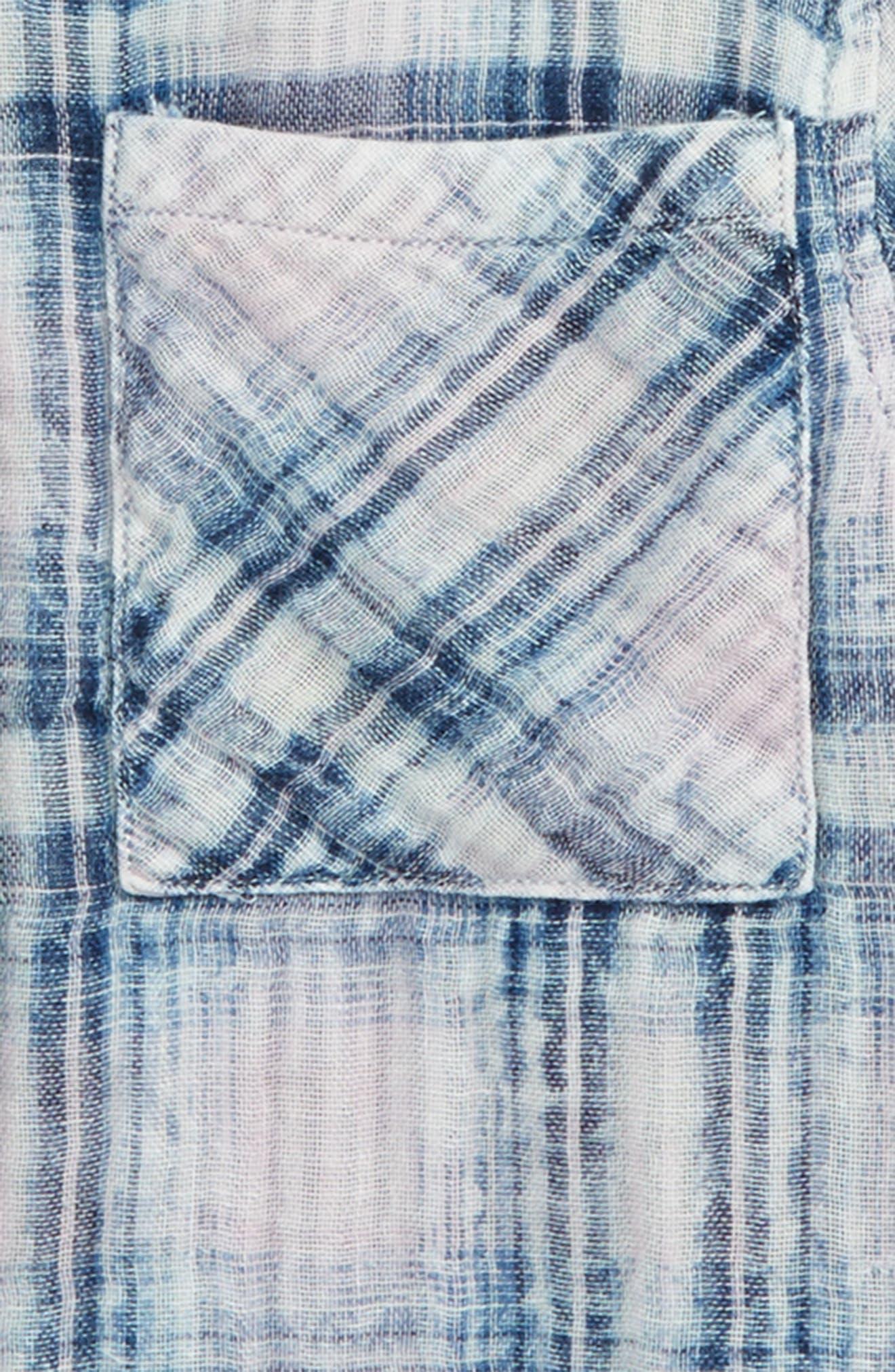 Hudson Plaid Shirt,                             Alternate thumbnail 2, color,                             400
