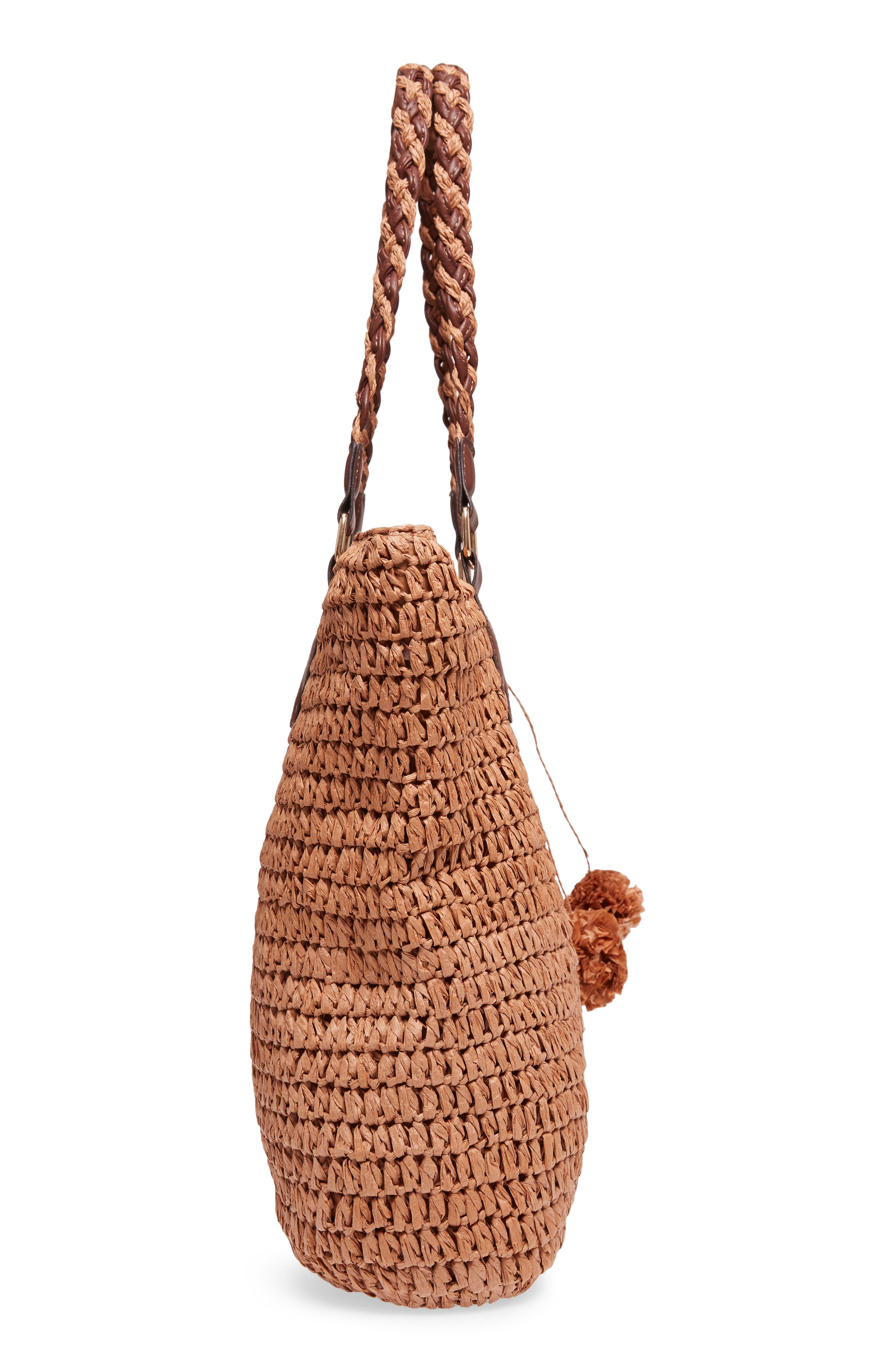 Bahama Mama Straw Tote,                             Alternate thumbnail 5, color,                             207