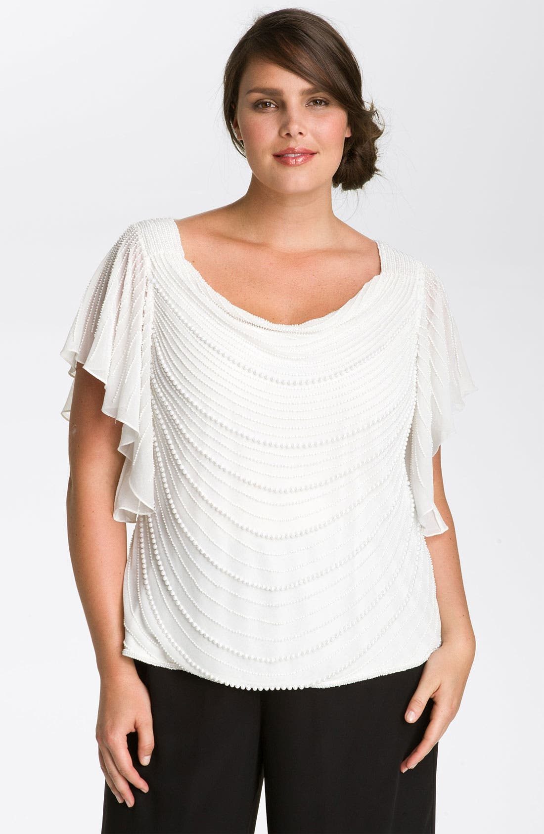 Pearl Embellished Top,                             Main thumbnail 1, color,                             900