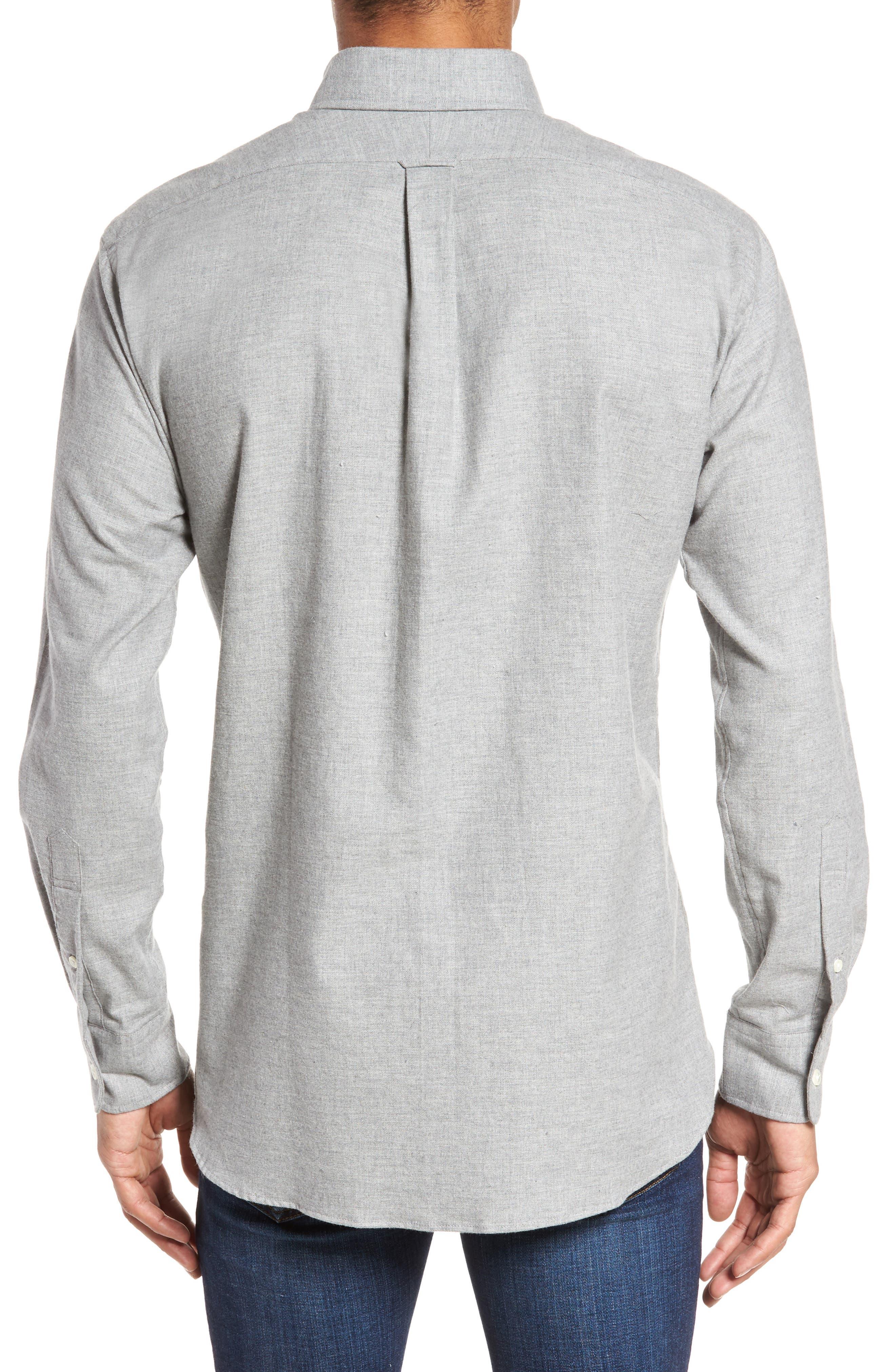 Slim Fit Sport Shirt,                             Alternate thumbnail 2, color,