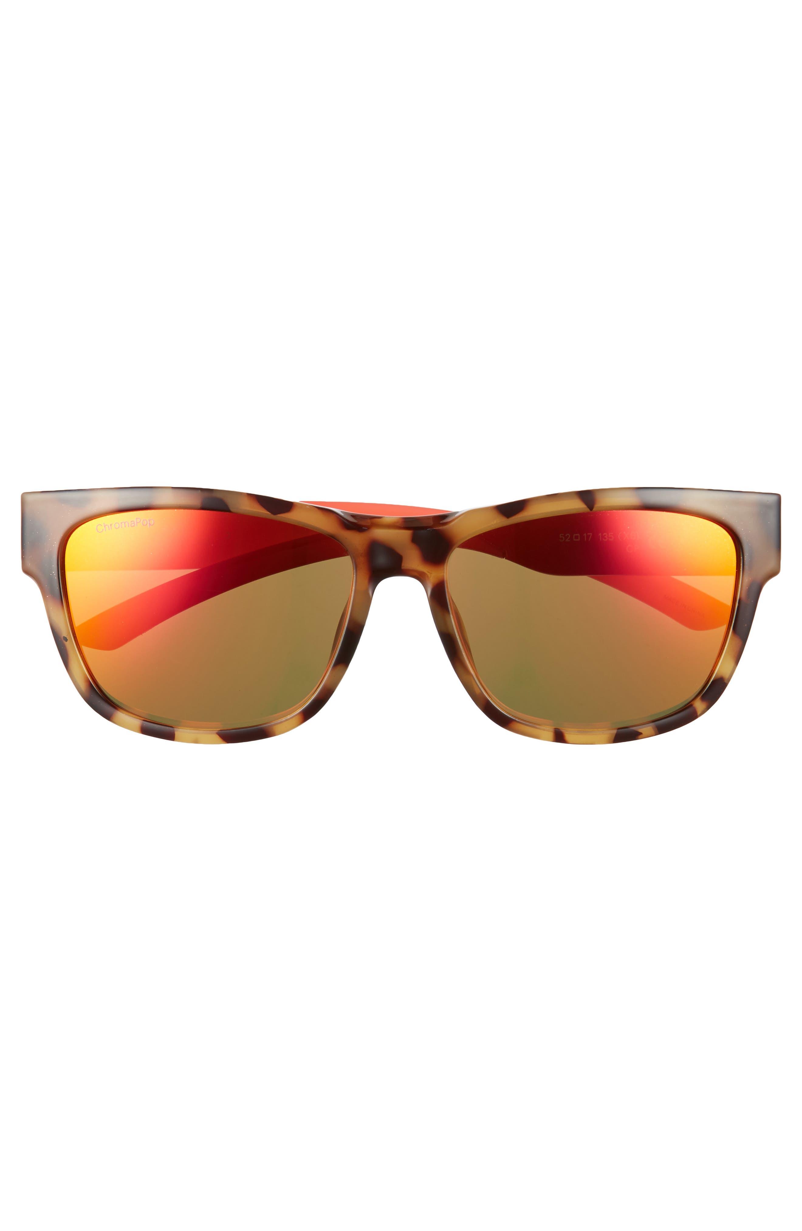 Ember 52mm ChromaPop<sup>™</sup> Sunglasses,                             Alternate thumbnail 3, color,                             HAVANA RISE