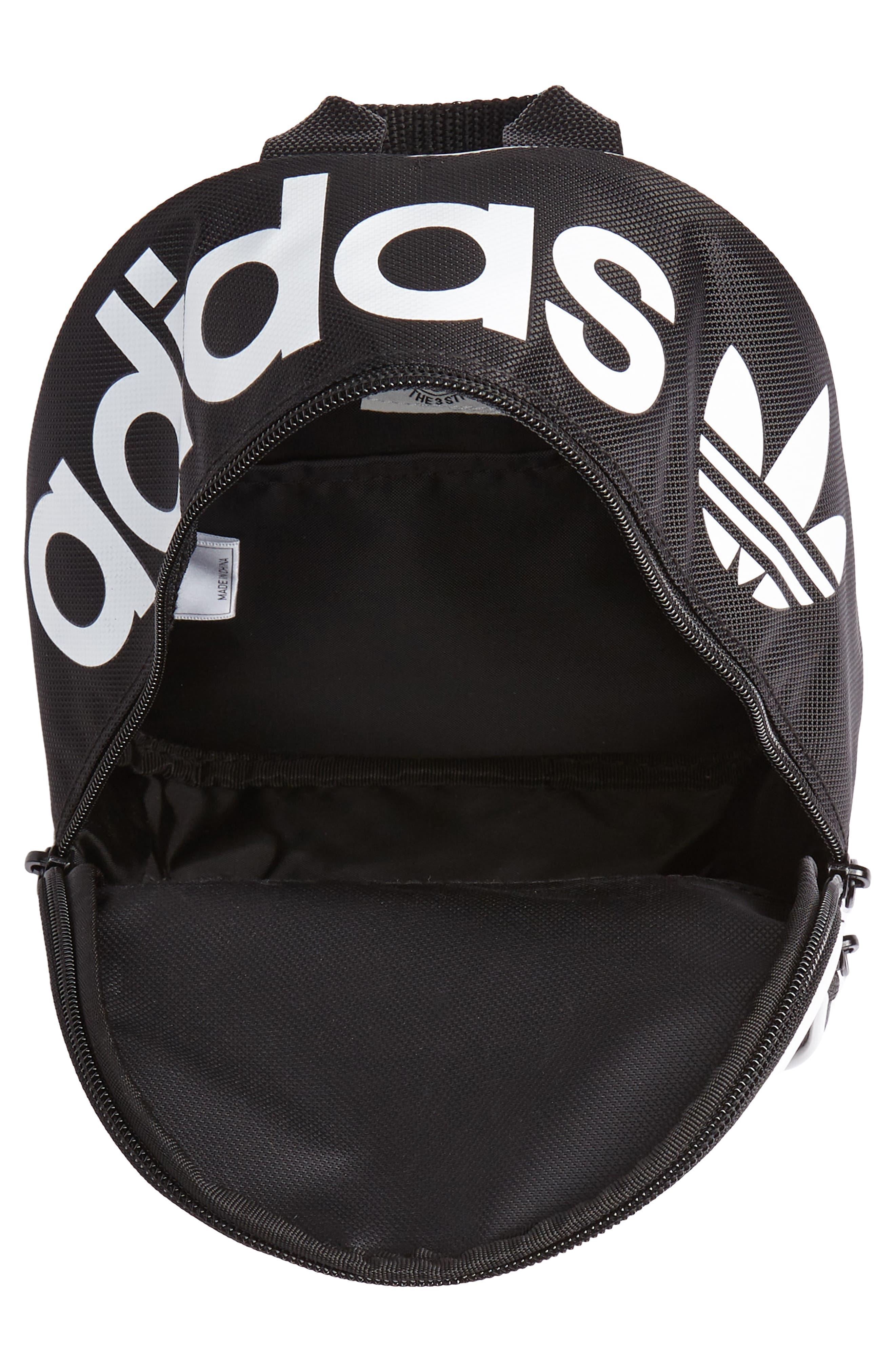 Originals Santiago Mini Backpack,                             Alternate thumbnail 3, color,                             BLACK