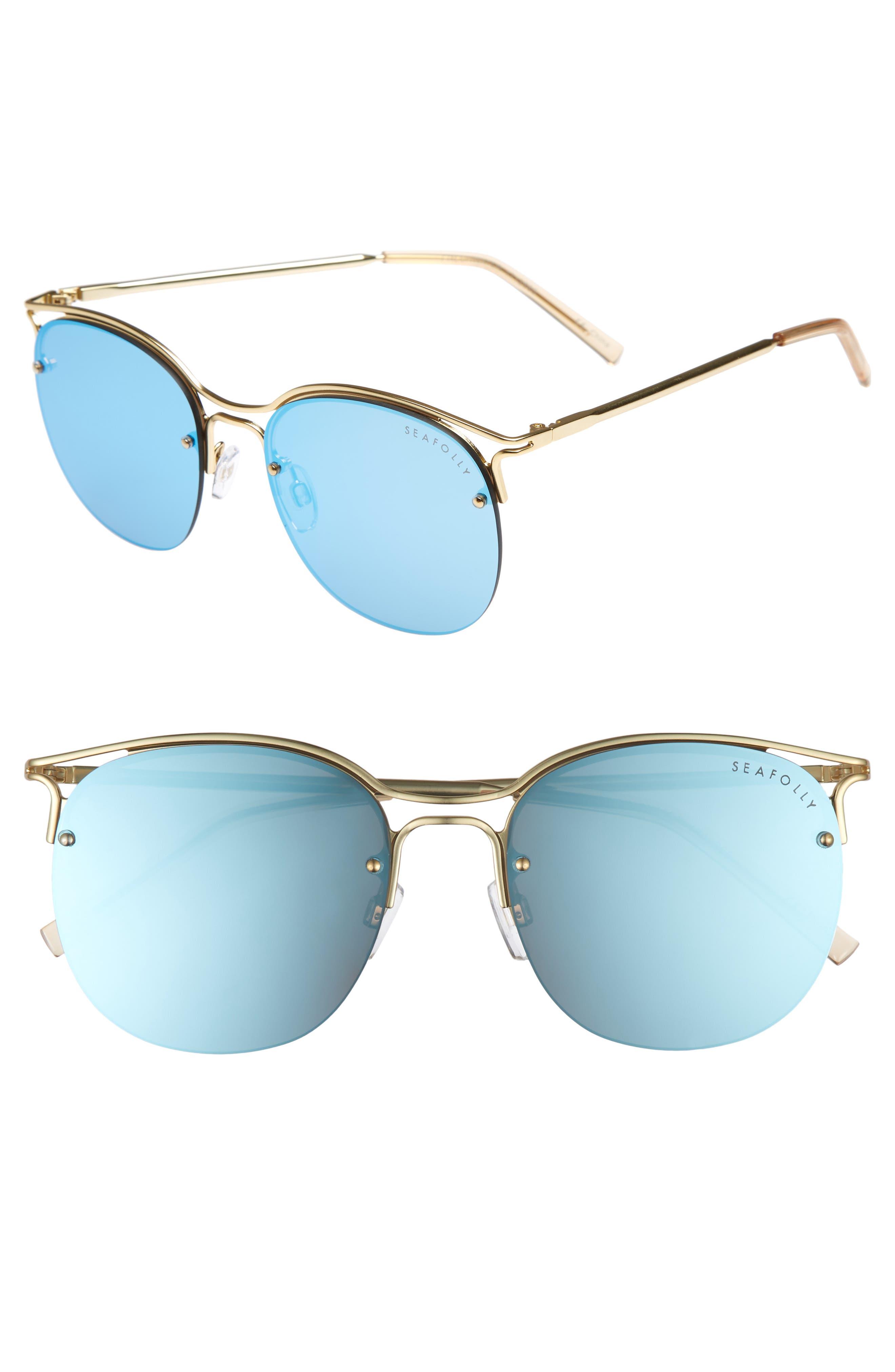 Freshwater 55m Metal Sunglasses,                             Main thumbnail 2, color,