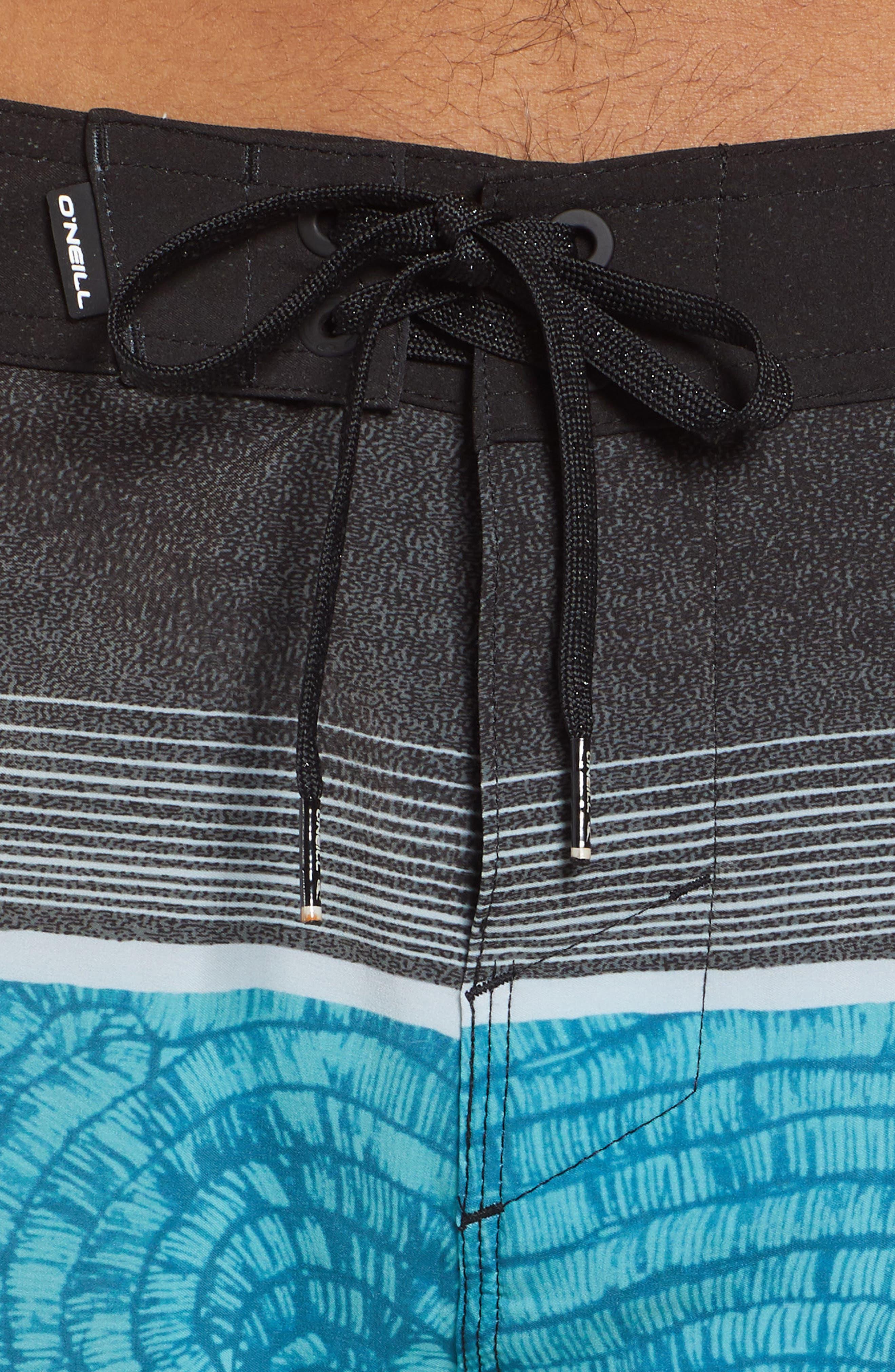 Hyperfreak Board Shorts,                             Alternate thumbnail 4, color,                             TURQUOISE