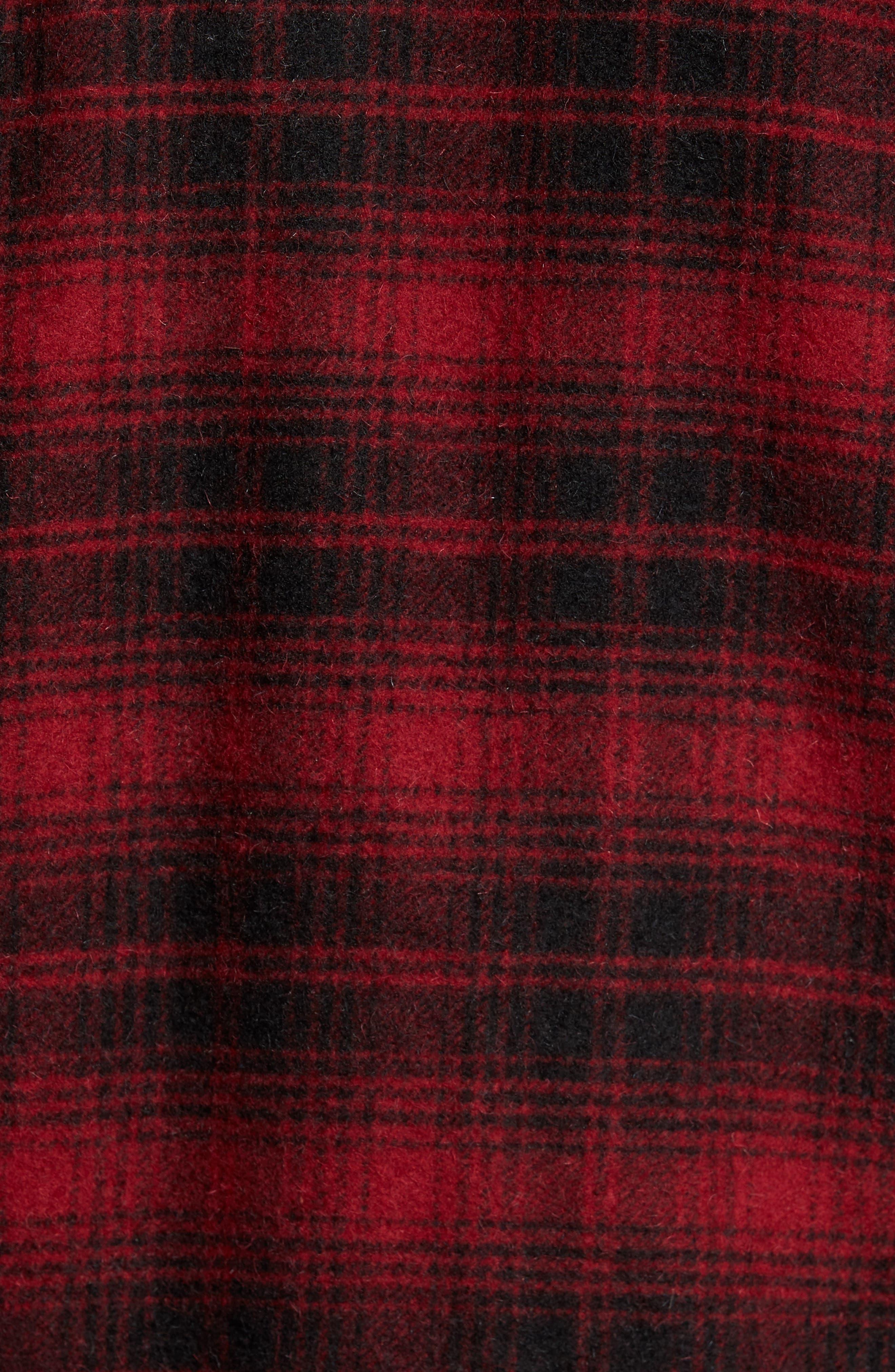 Hunter Jack Wool Blend Shirt Jacket,                             Alternate thumbnail 6, color,