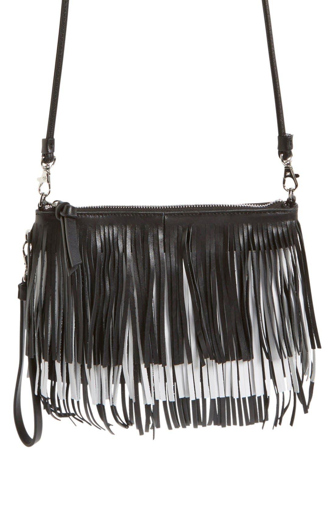 'Camilla' Convertible Crossbody Bag,                             Main thumbnail 1, color,                             001