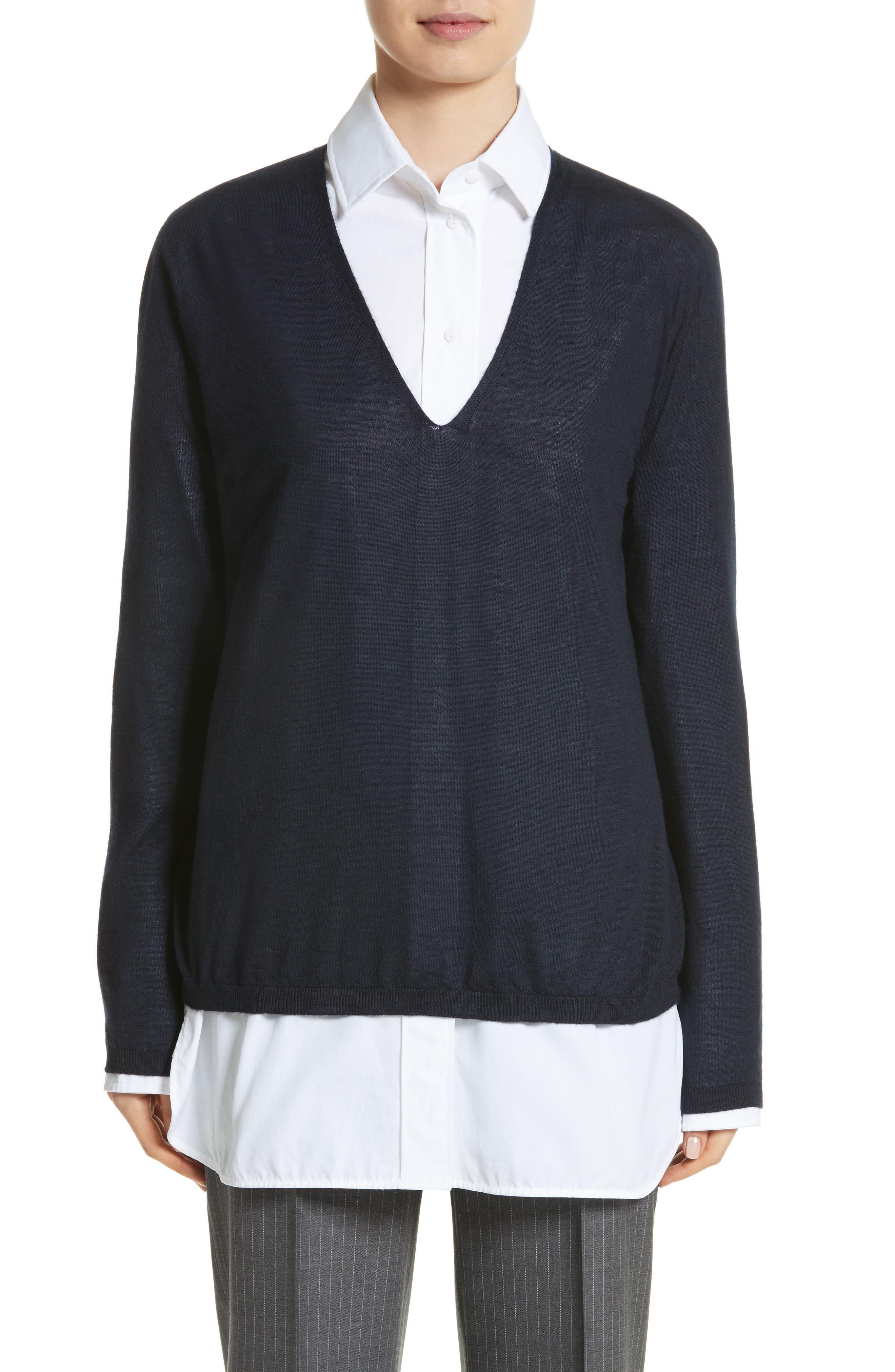 Vela Cashmere Sweater,                         Main,                         color, 411