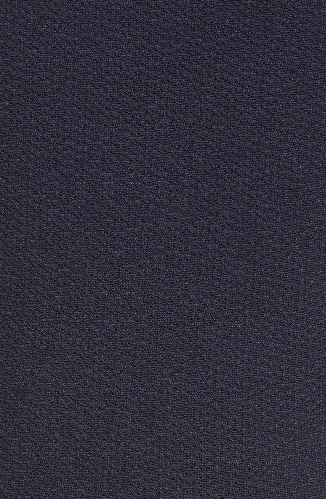 Knit Fit & Flare Dress,                             Alternate thumbnail 5, color,                             414