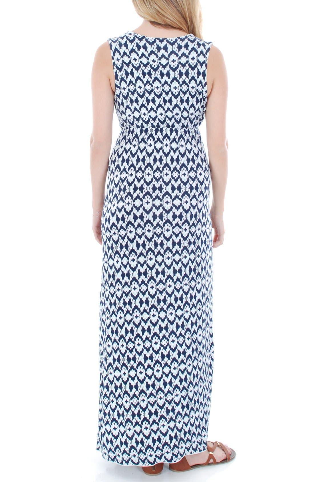'Jill' Maternity Maxi Dress,                             Alternate thumbnail 2, color,                             400