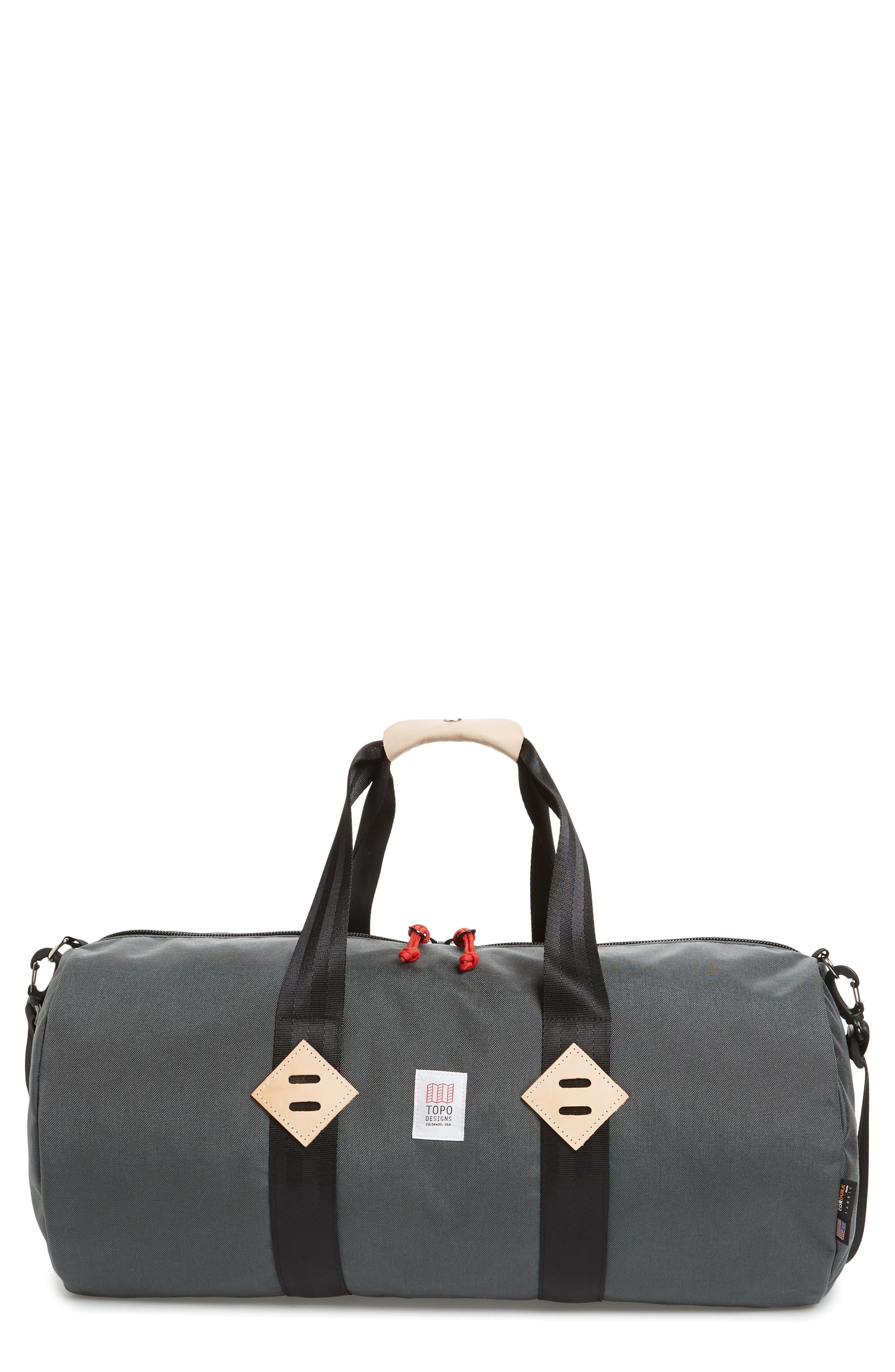 Classic Duffel Bag,                             Main thumbnail 1, color,                             CHARCOAL