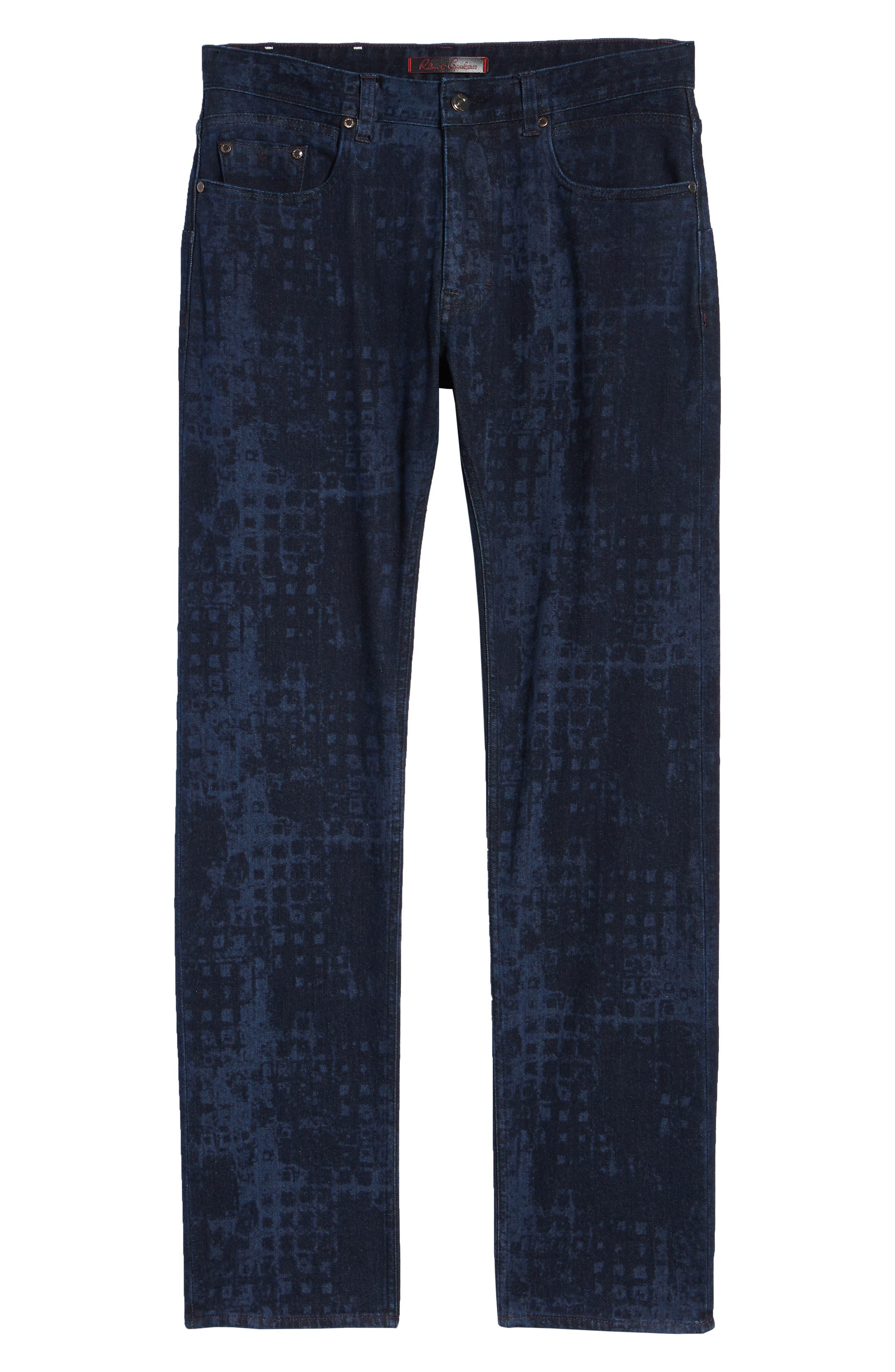 Chilcott Classic Fit Jeans,                             Alternate thumbnail 6, color,                             INDIGO