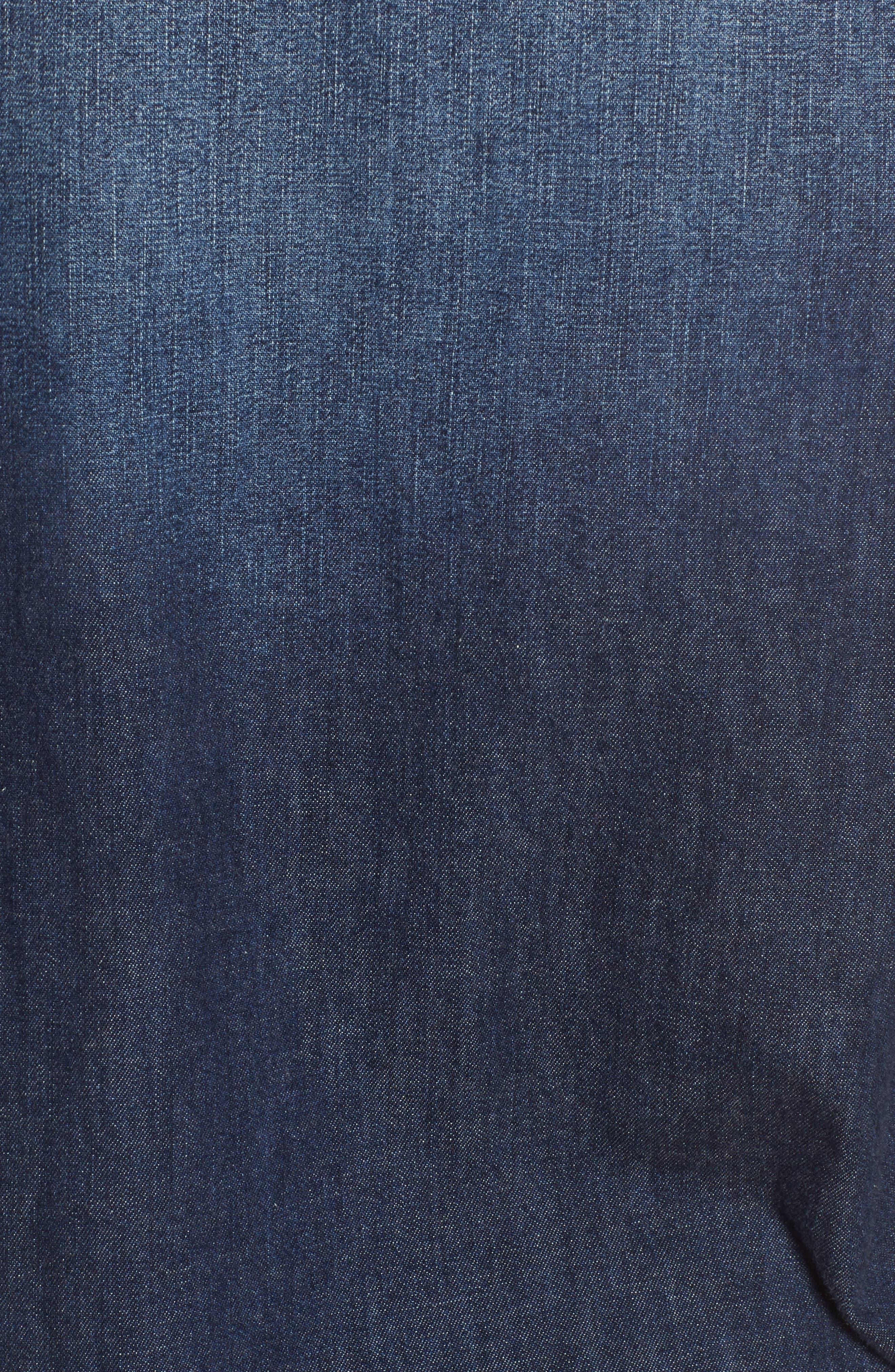 Deanna Denim Shirt,                             Alternate thumbnail 6, color,                             424
