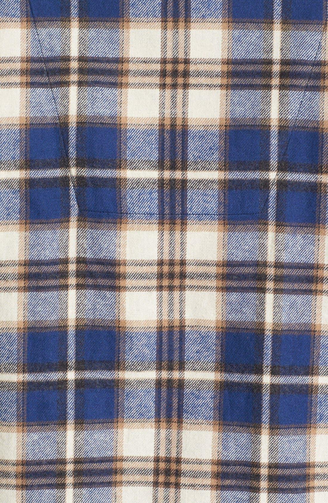 '824' Flannel Pajama Set,                             Alternate thumbnail 55, color,