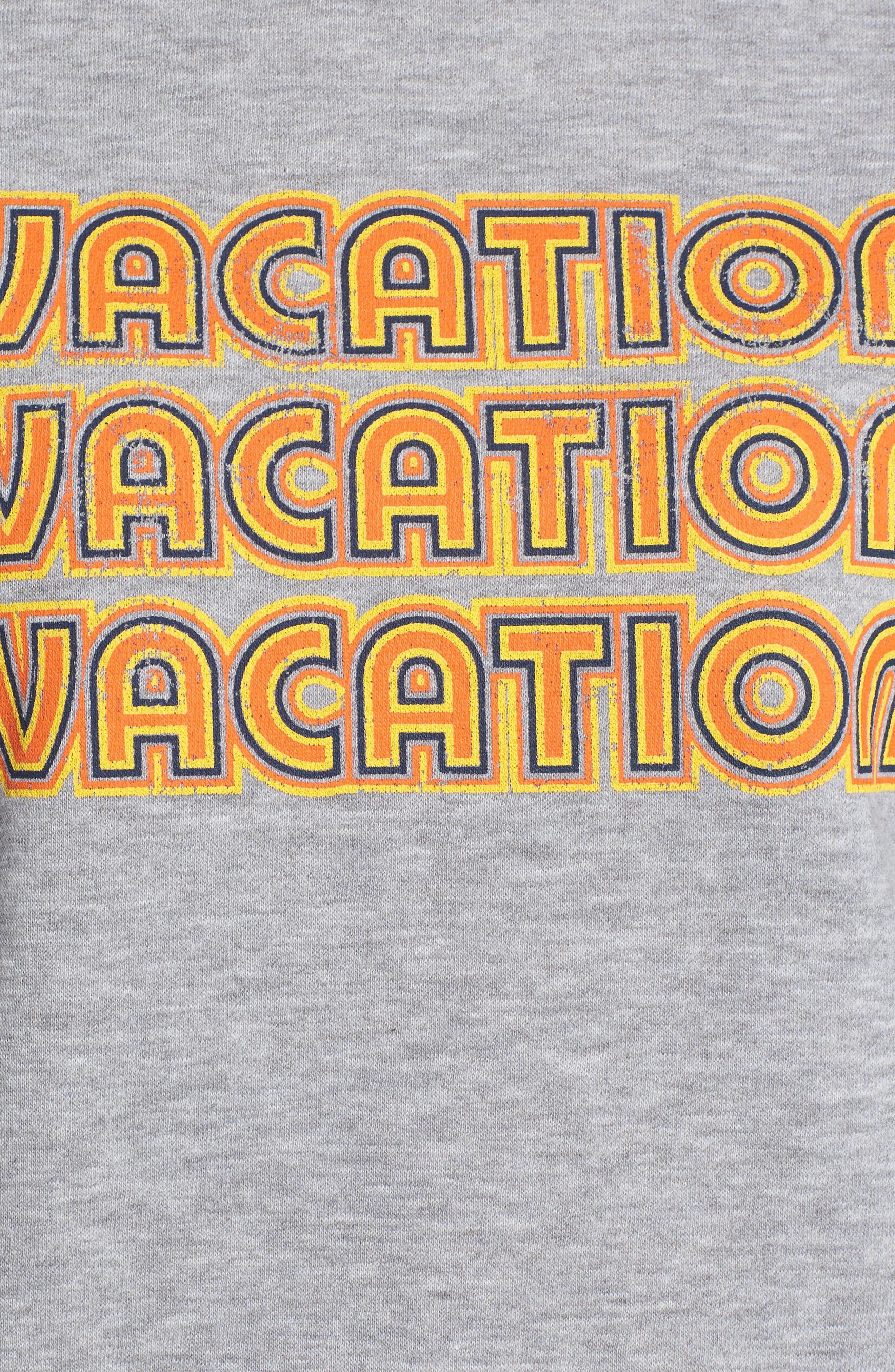 REBECCA MINKOFF,                             Vacation Sweatshirt,                             Alternate thumbnail 5, color,                             026