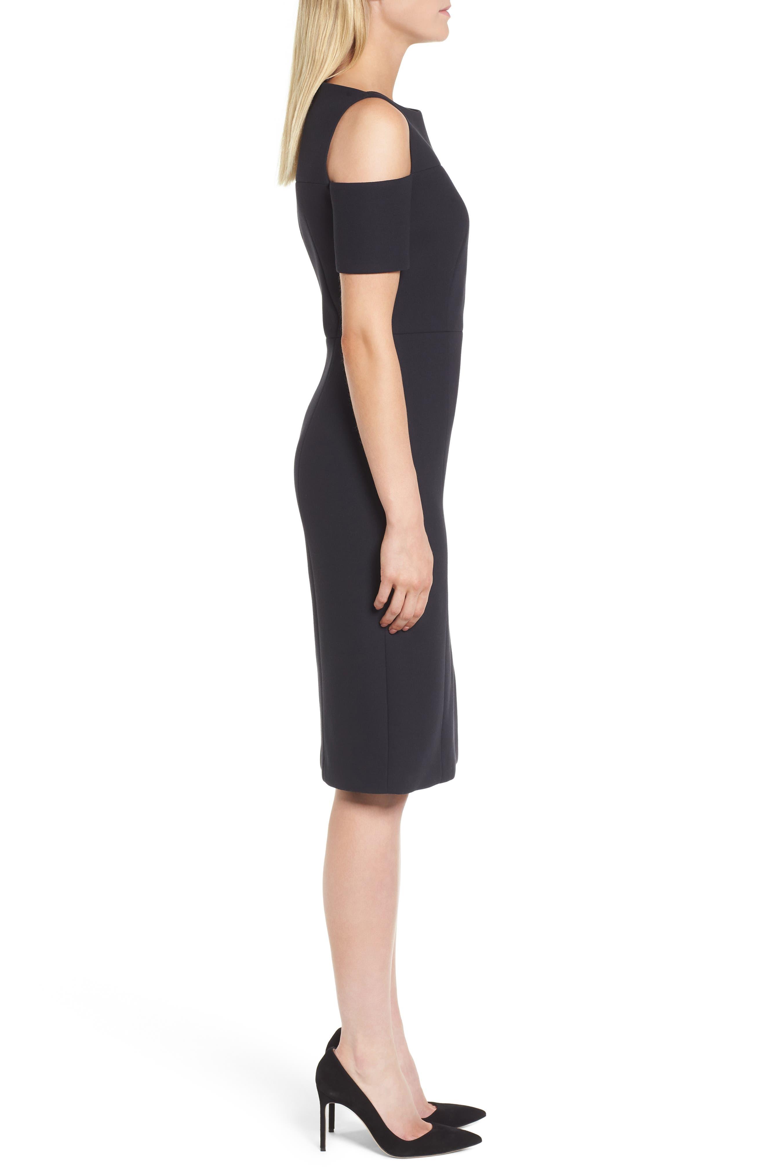 Denaka Sheath Dress,                             Alternate thumbnail 3, color,