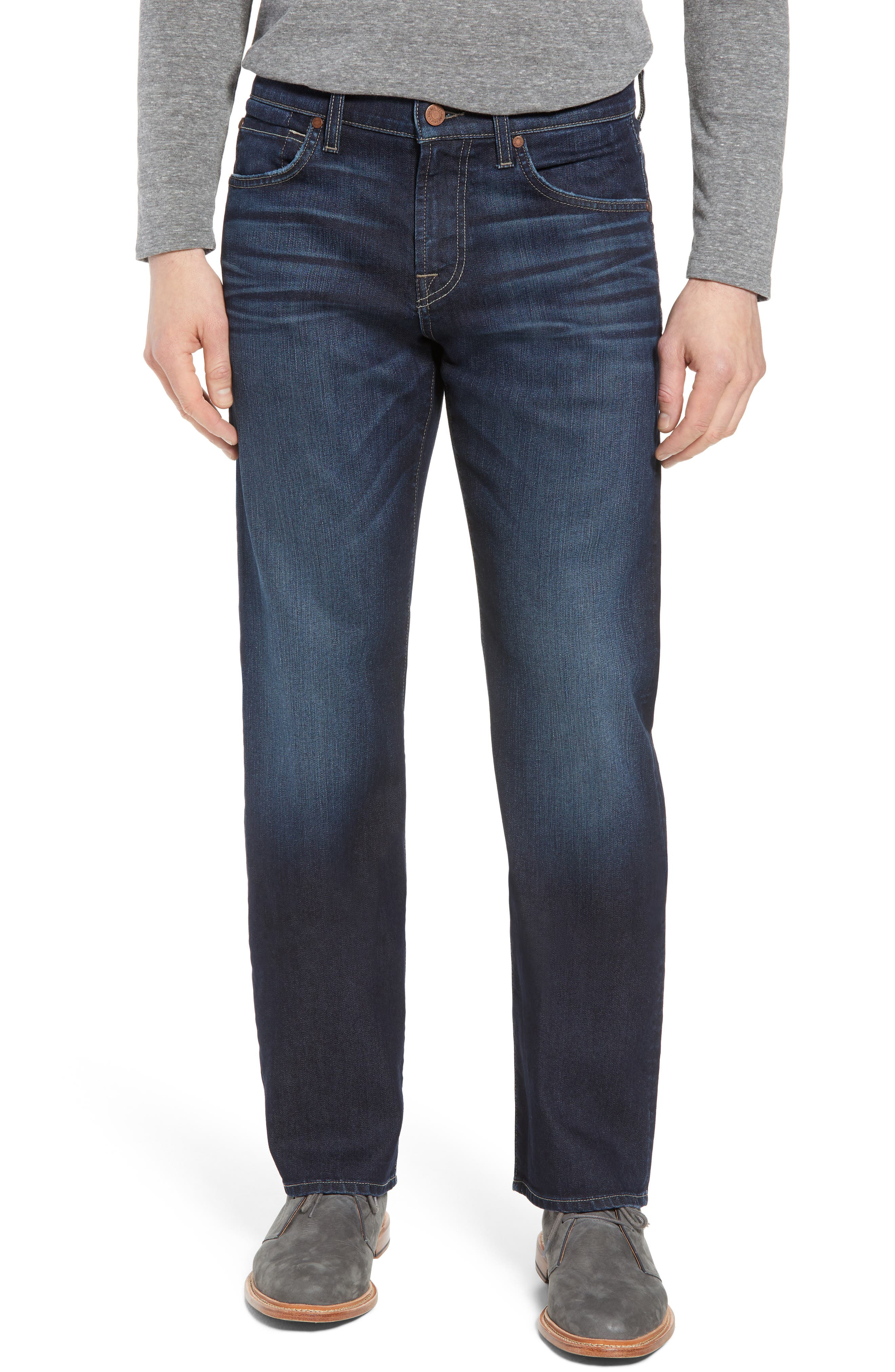 Airweft Austyn Relaxed Straight Leg Jeans,                             Main thumbnail 1, color,                             406