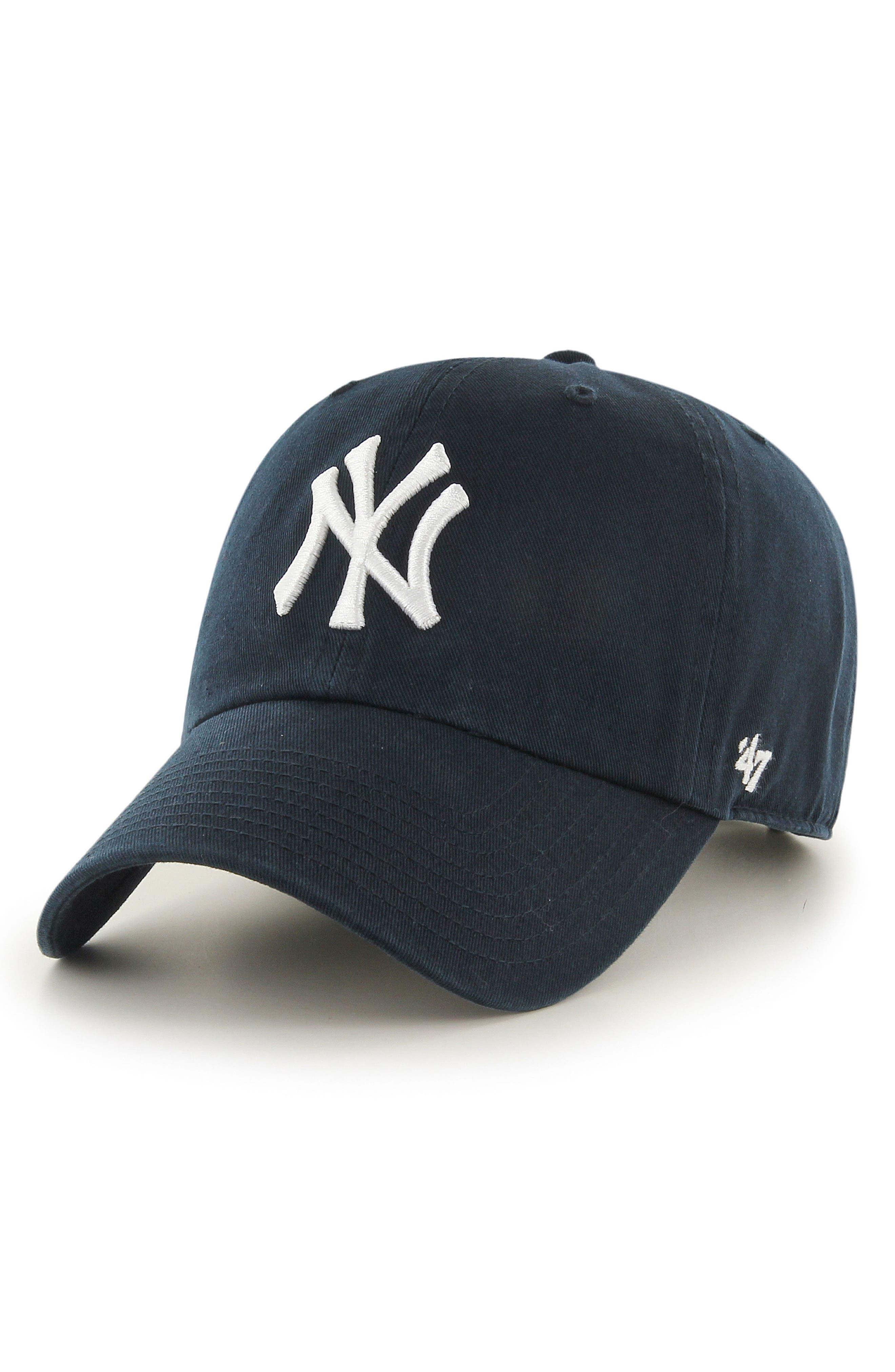 Clean Up NY Yankees Baseball Cap,                             Main thumbnail 1, color,                             410