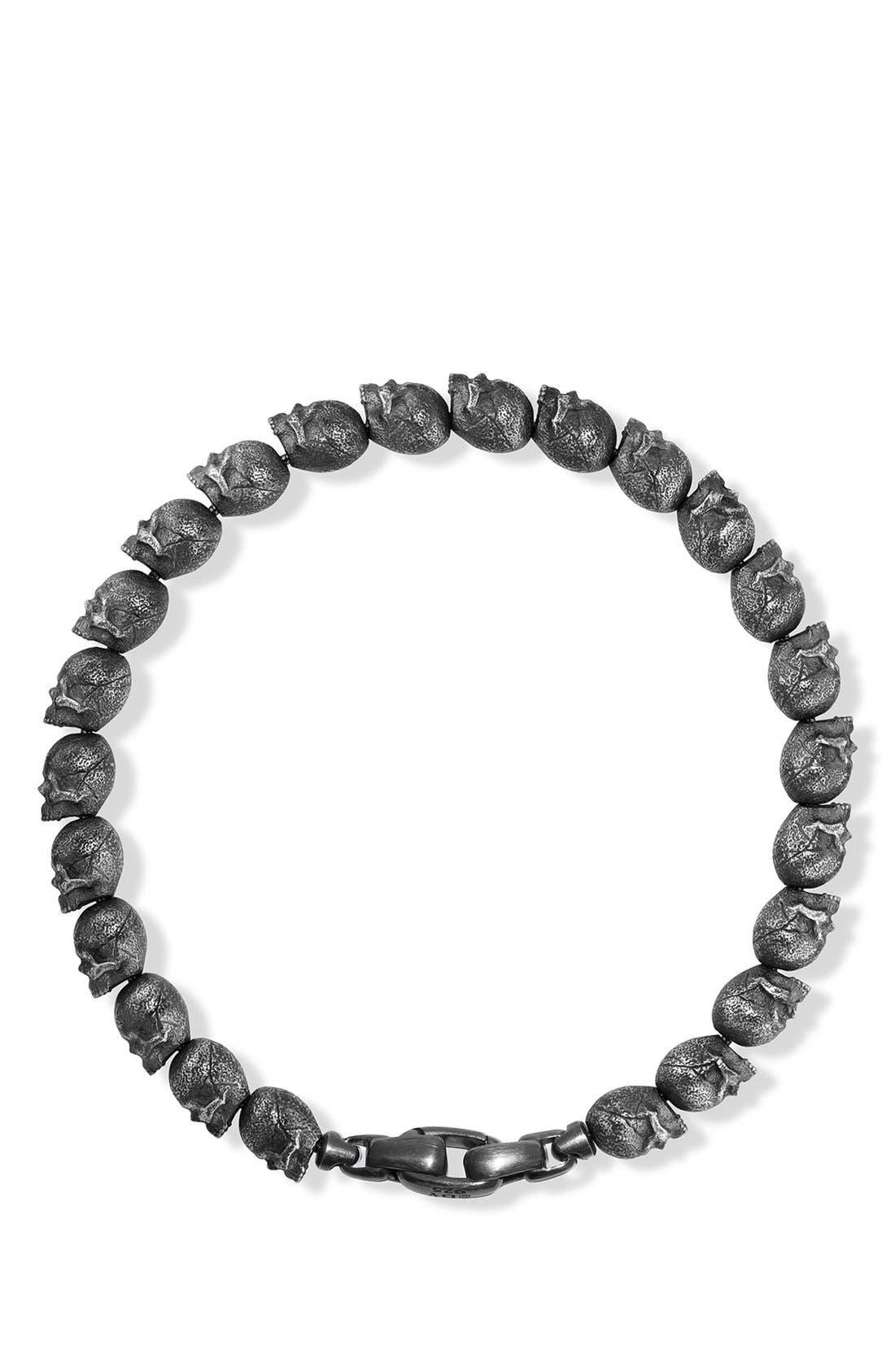 'Spiritual Beads' Bracelet in Silver,                             Alternate thumbnail 3, color,                             040