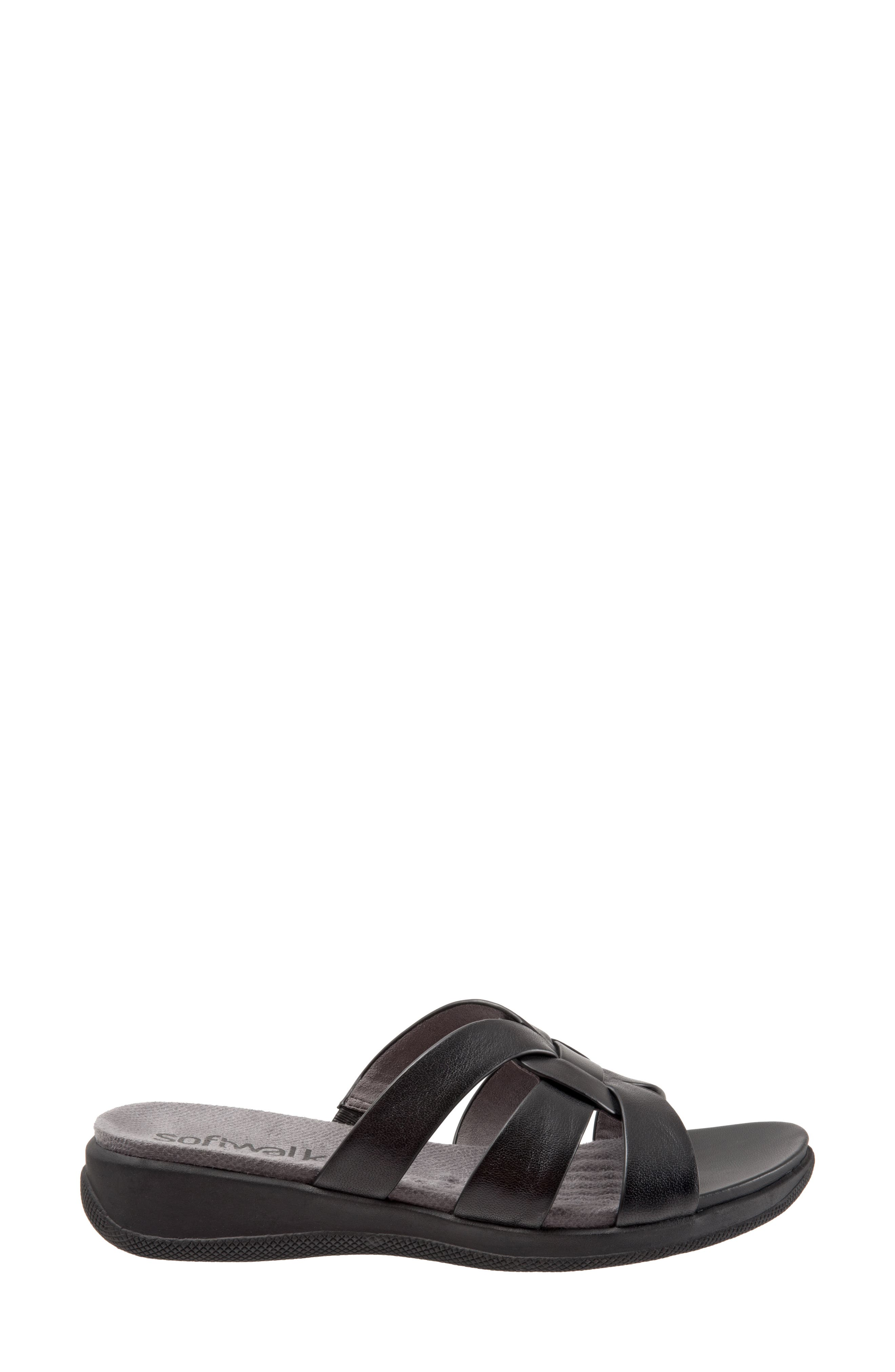 Thompson Slide Sandal,                             Alternate thumbnail 3, color,                             001
