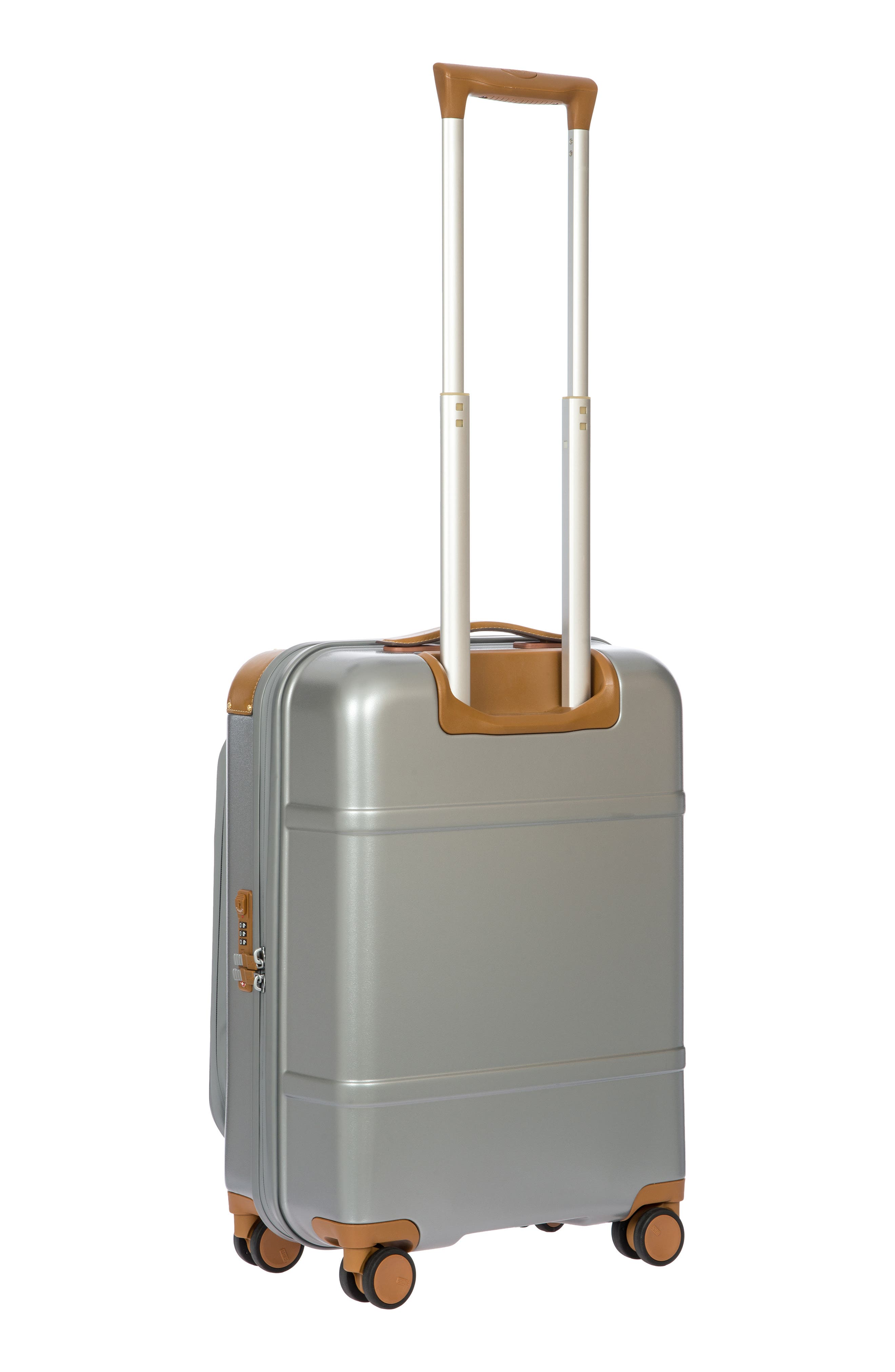 Bellagio 2.0 21-Inch Rolling Carry-On,                             Alternate thumbnail 4, color,                             SILVER